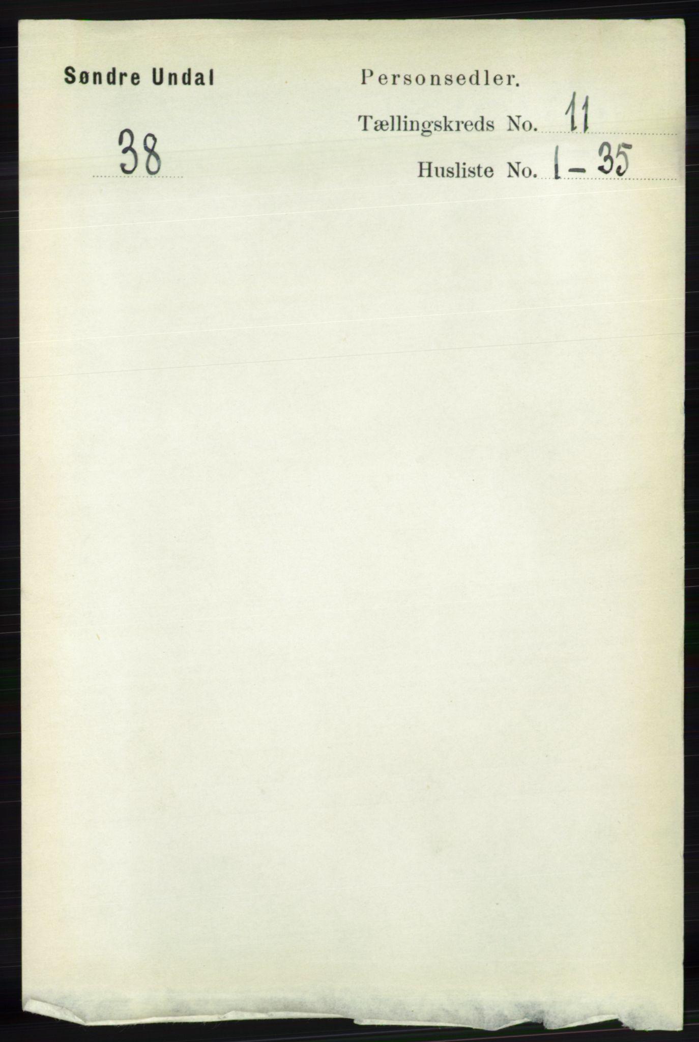 RA, Folketelling 1891 for 1029 Sør-Audnedal herred, 1891, s. 5129