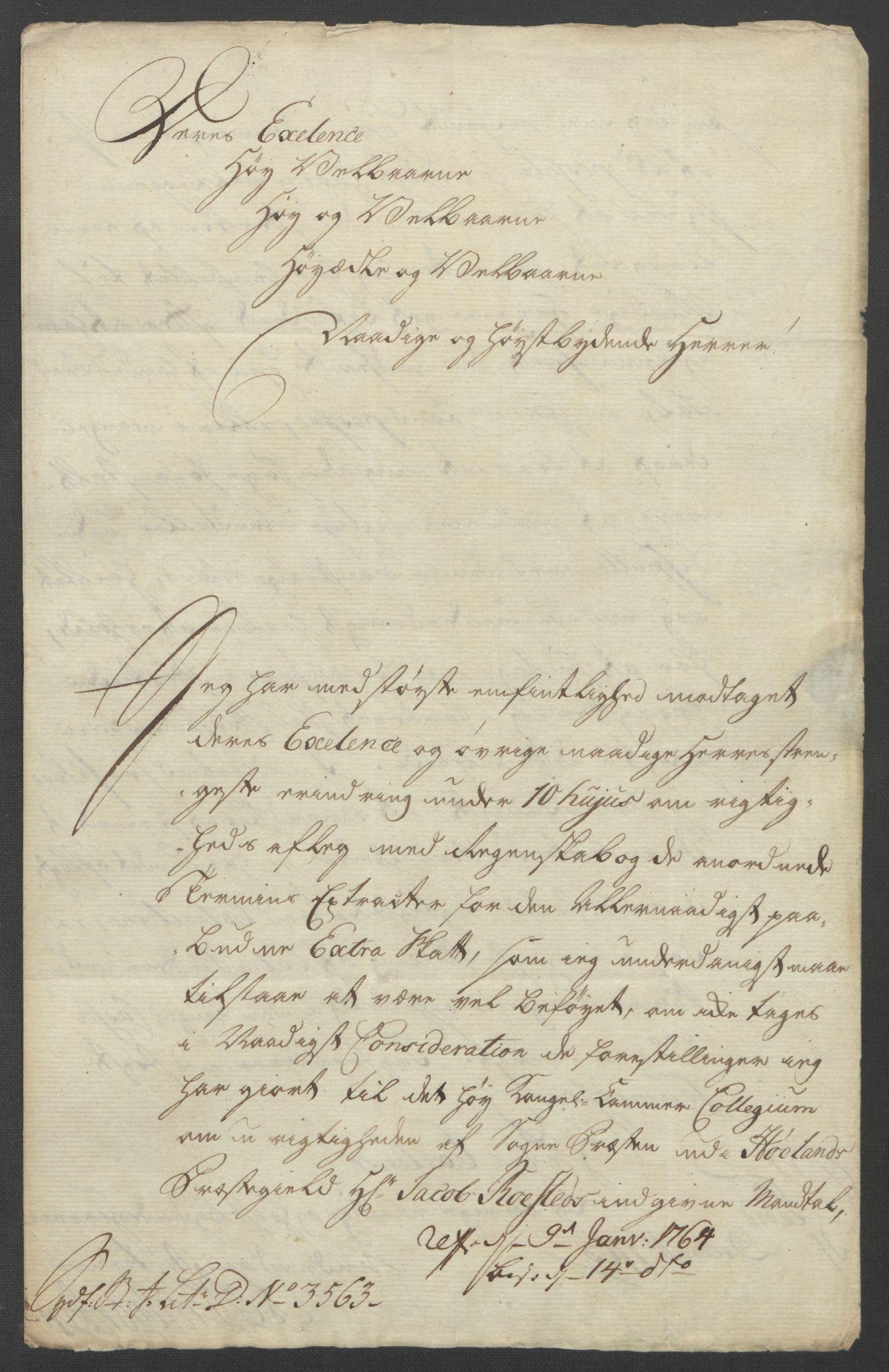 RA, Rentekammeret inntil 1814, Reviderte regnskaper, Fogderegnskap, R11/L0688: Ekstraskatten Nedre Romerike, 1763, s. 349