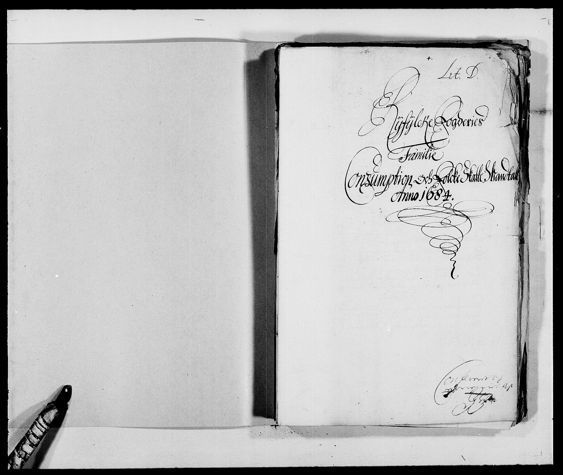 RA, Rentekammeret inntil 1814, Reviderte regnskaper, Fogderegnskap, R47/L2854: Fogderegnskap Ryfylke, 1684, s. 211