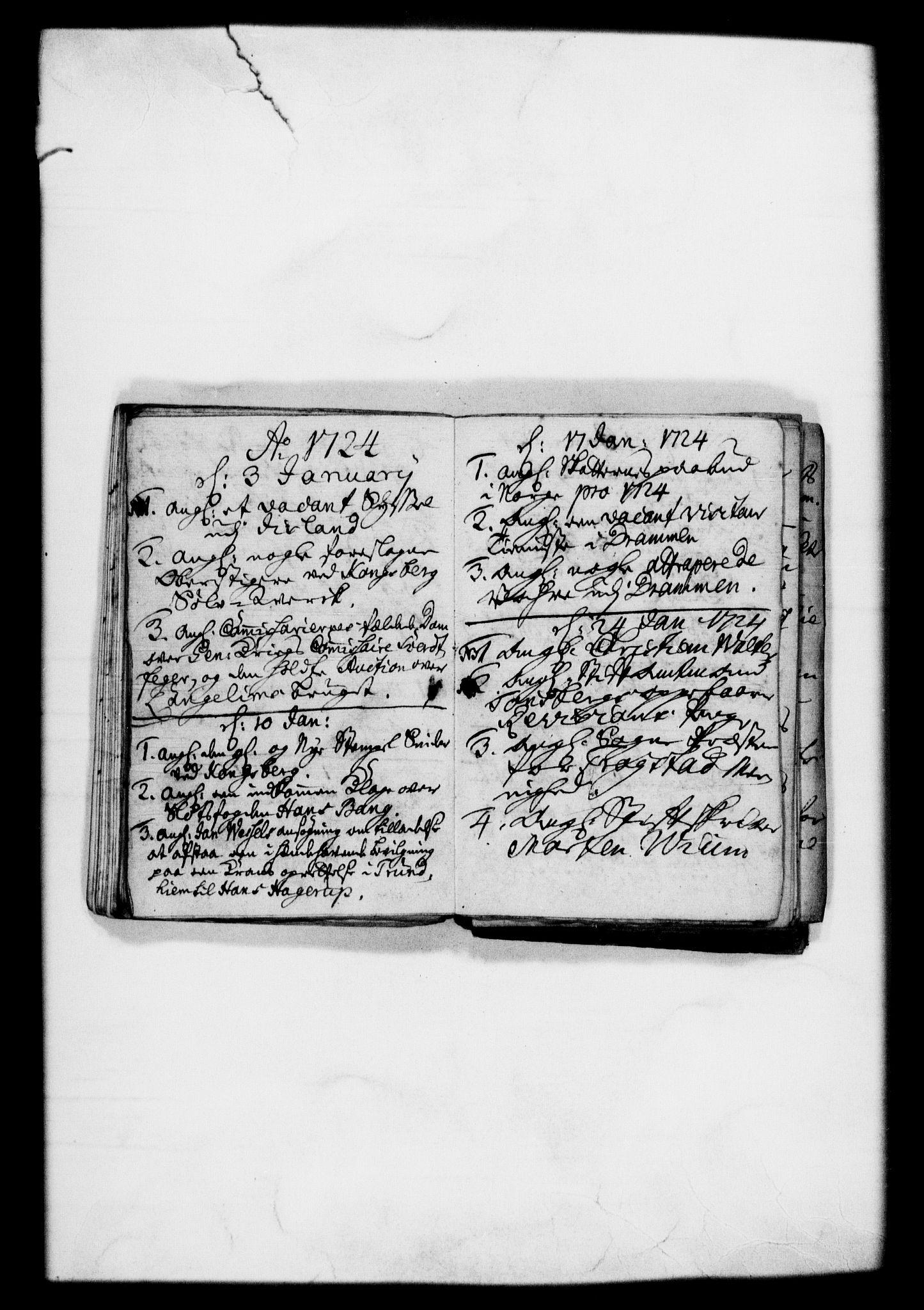 RA, Rentekammeret, Kammerkanselliet, G/Gf/Gfb/L0001: Register til norske relasjons- og resolusjonsprotokoller (merket RK 52.96), 1720-1749, s. 41