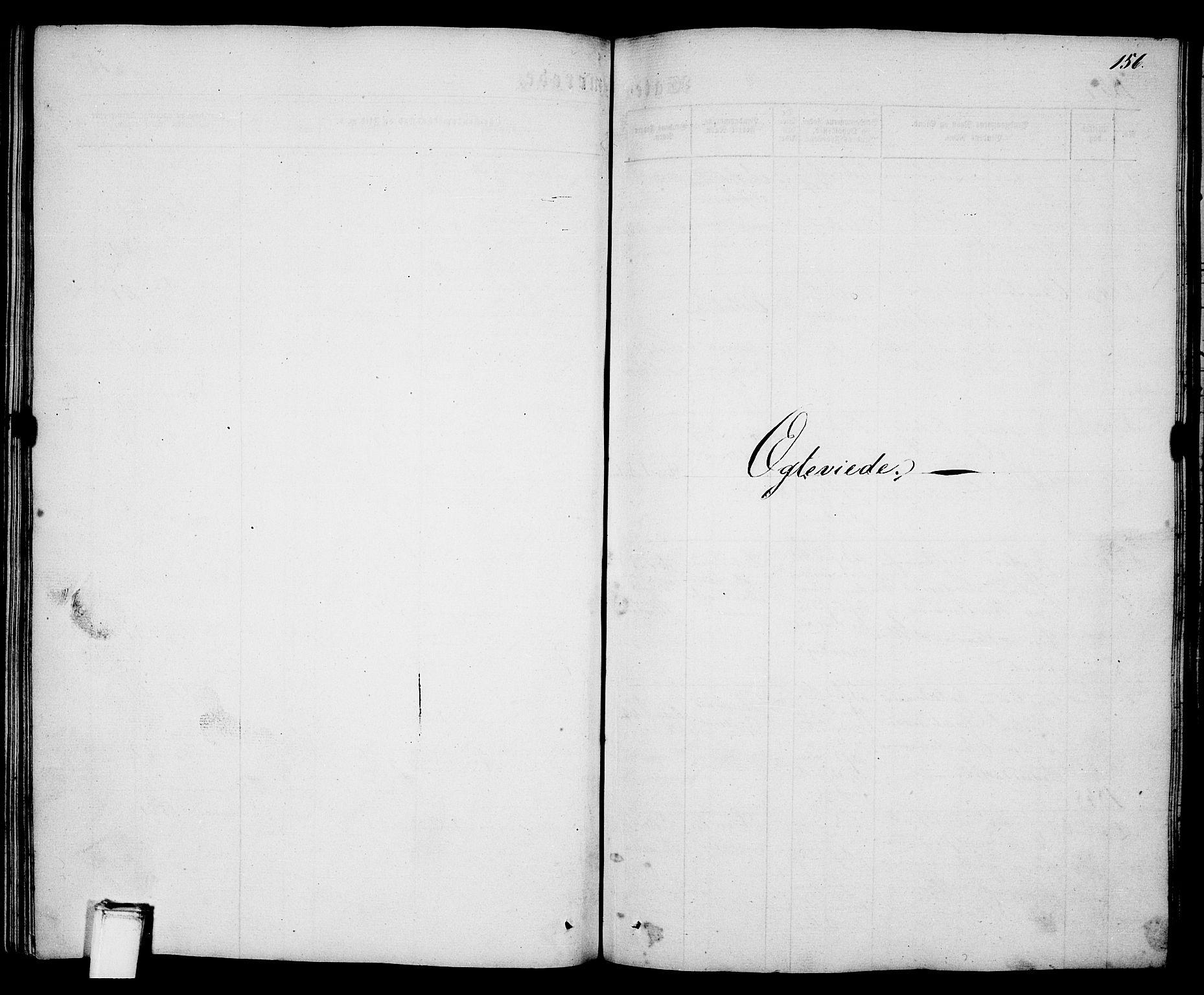 SAKO, Porsgrunn kirkebøker , G/Ga/L0002: Klokkerbok nr. I 2, 1847-1877, s. 156