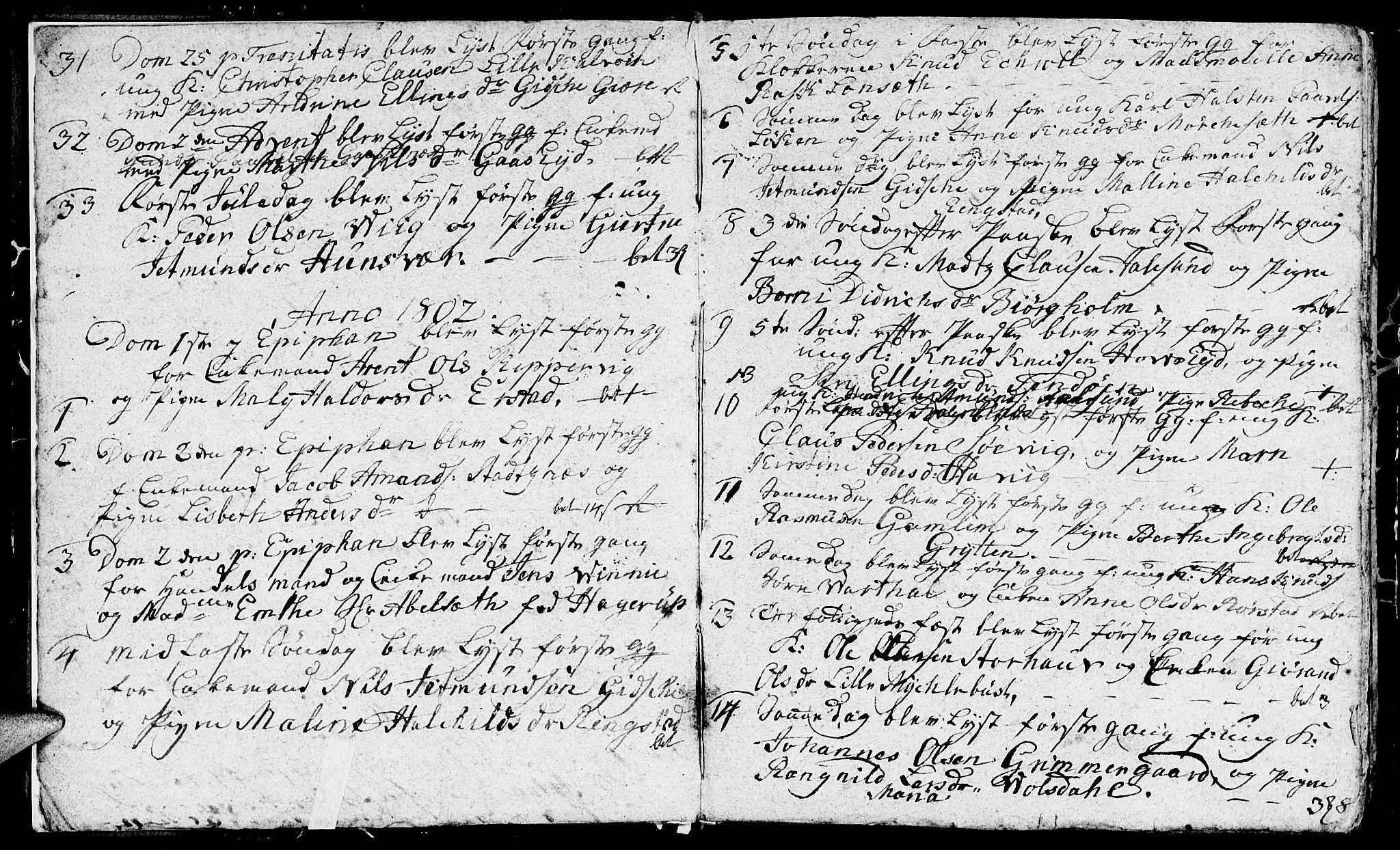 SAT, Ministerialprotokoller, klokkerbøker og fødselsregistre - Møre og Romsdal, 528/L0422: Klokkerbok nr. 528C03, 1801-1825