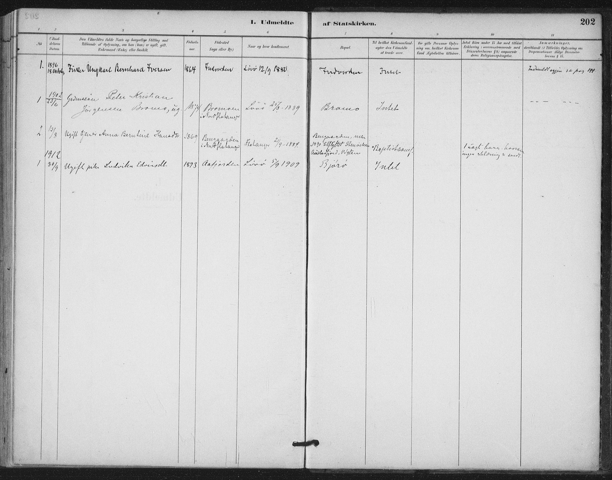 SAT, Ministerialprotokoller, klokkerbøker og fødselsregistre - Nord-Trøndelag, 772/L0603: Ministerialbok nr. 772A01, 1885-1912, s. 202