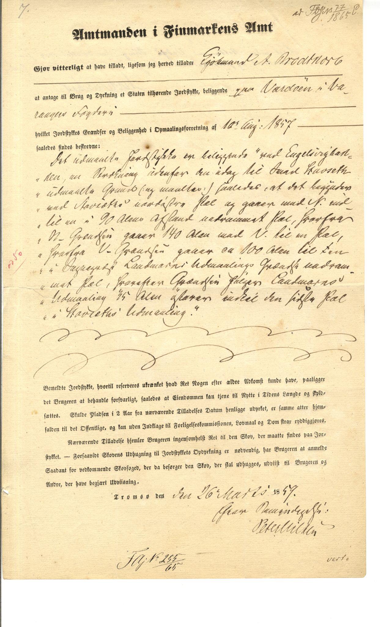 VAMU, Brodtkorb handel A/S, Q/Qb/L0003: Faste eiendommer i Vardø Herred, 1862-1939, s. 324