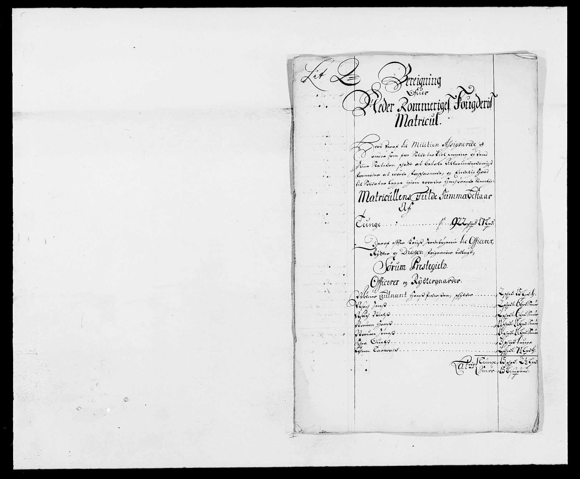RA, Rentekammeret inntil 1814, Reviderte regnskaper, Fogderegnskap, R11/L0574: Fogderegnskap Nedre Romerike, 1689-1690, s. 364