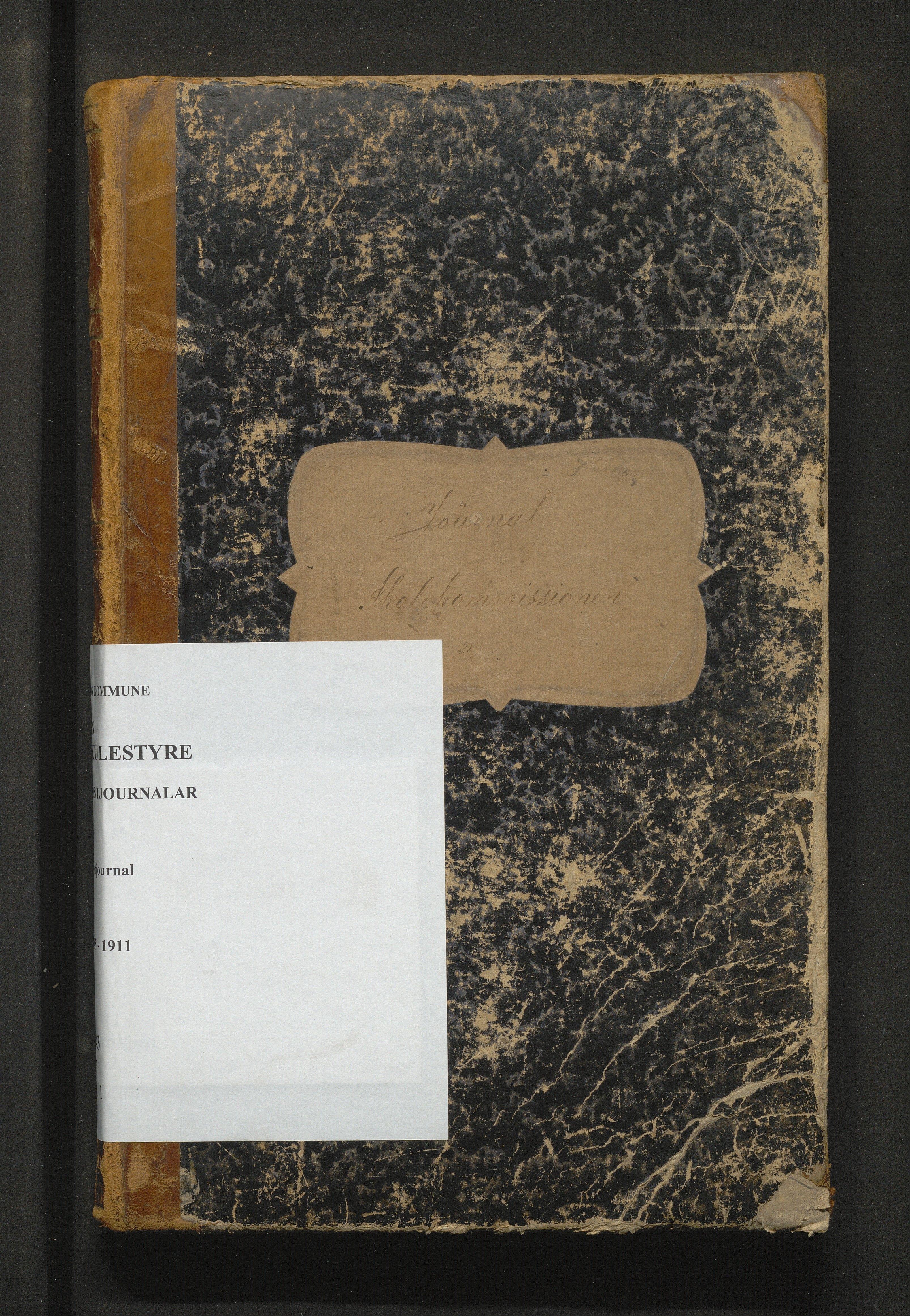 IKAH, Os kommune. Skulestyret, C/Ca/L0001: Postjournal for Os skulestyre, 1885-1911