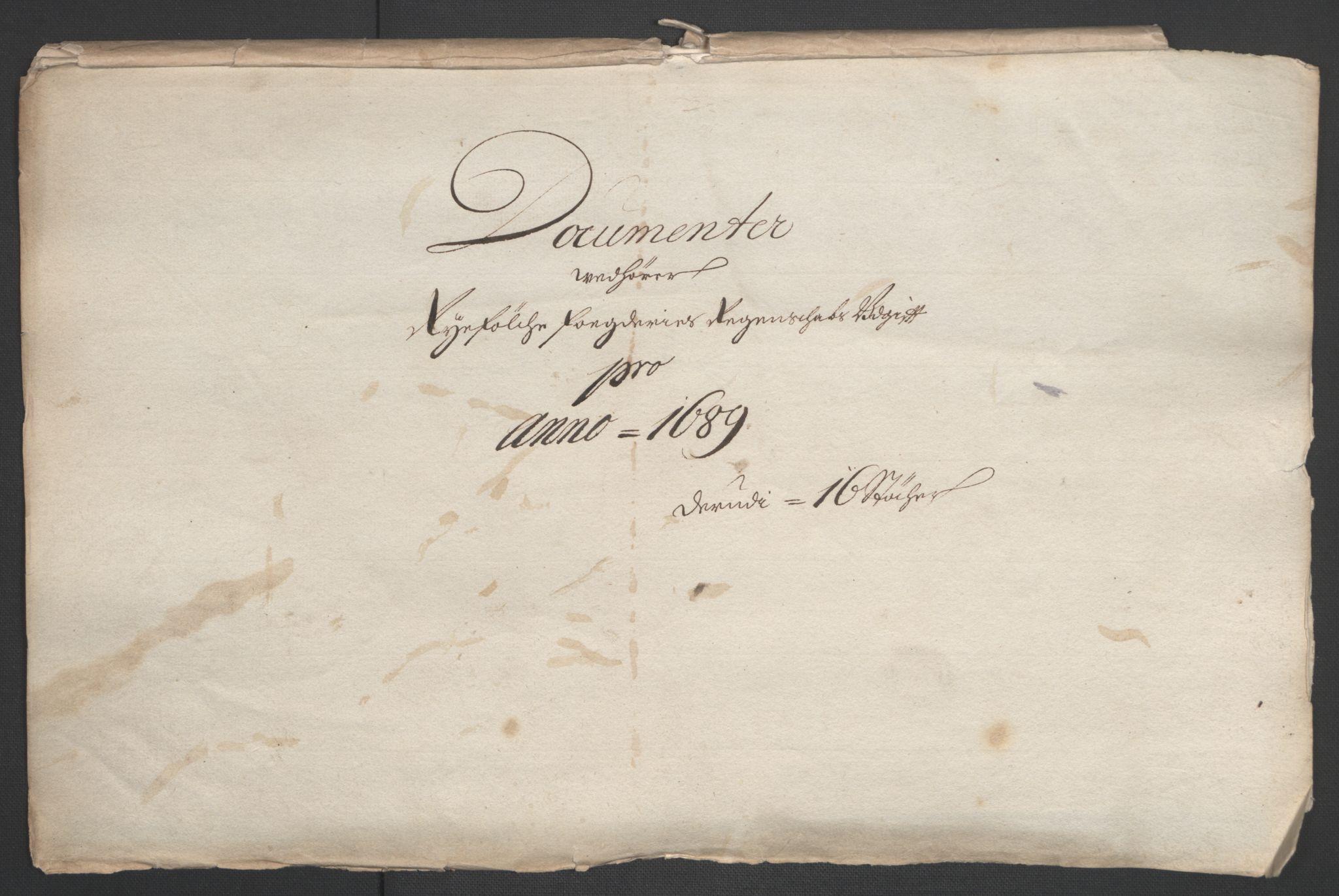 RA, Rentekammeret inntil 1814, Reviderte regnskaper, Fogderegnskap, R47/L2856: Fogderegnskap Ryfylke, 1689-1693, s. 83