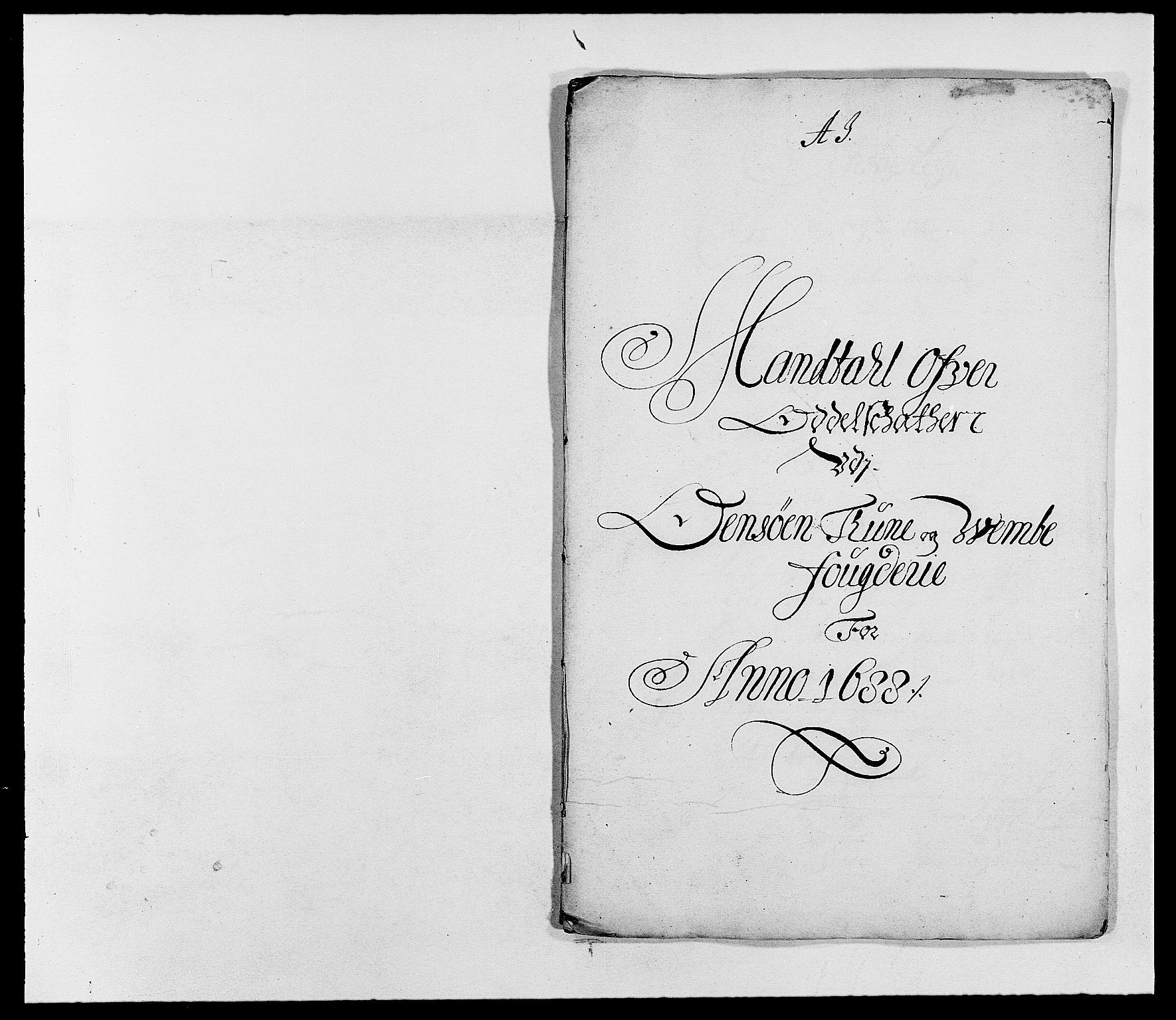 RA, Rentekammeret inntil 1814, Reviderte regnskaper, Fogderegnskap, R03/L0117: Fogderegnskap Onsøy, Tune, Veme og Åbygge fogderi, 1684-1689, s. 236