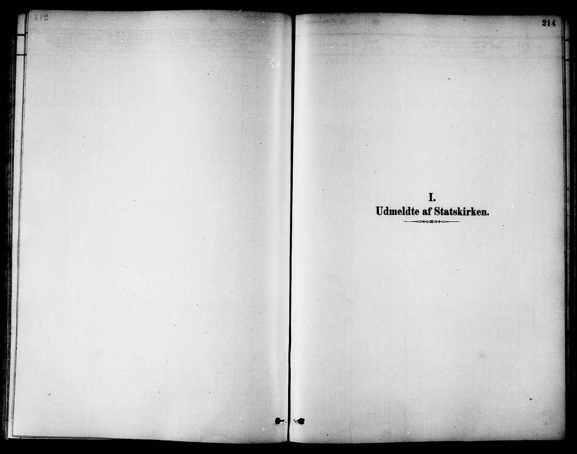 SAT, Ministerialprotokoller, klokkerbøker og fødselsregistre - Nord-Trøndelag, 784/L0672: Ministerialbok nr. 784A07, 1880-1887, s. 214