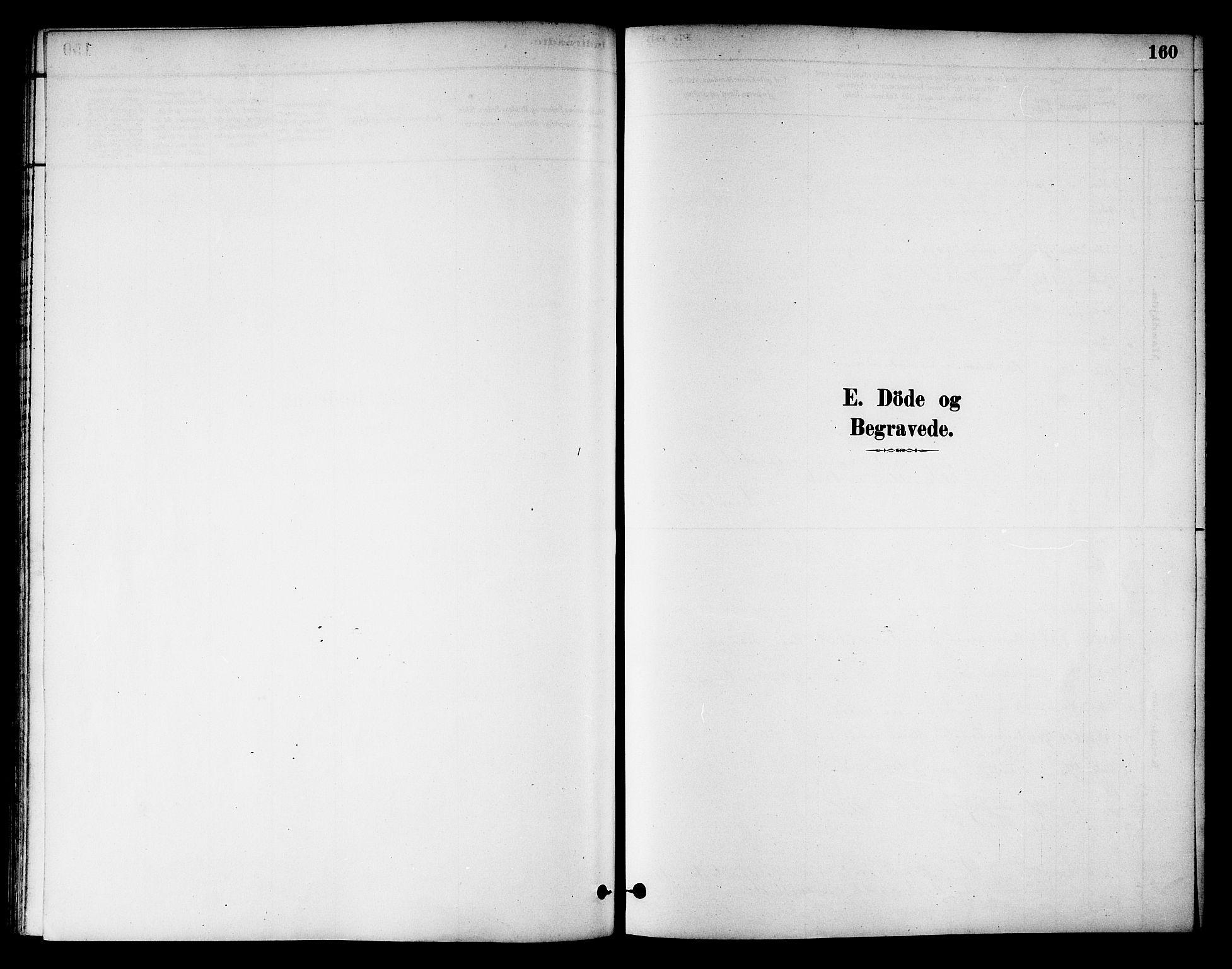 SAT, Ministerialprotokoller, klokkerbøker og fødselsregistre - Nord-Trøndelag, 784/L0672: Ministerialbok nr. 784A07, 1880-1887, s. 160