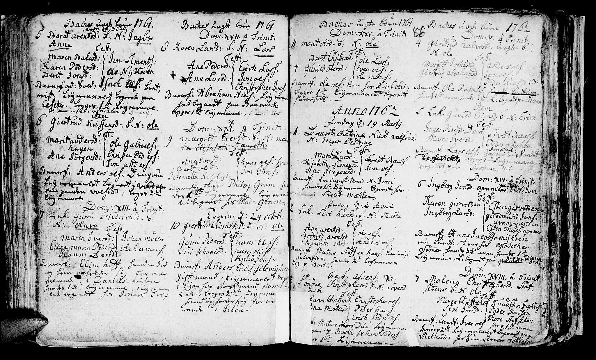 SAT, Ministerialprotokoller, klokkerbøker og fødselsregistre - Sør-Trøndelag, 604/L0218: Klokkerbok nr. 604C01, 1754-1819, s. 86