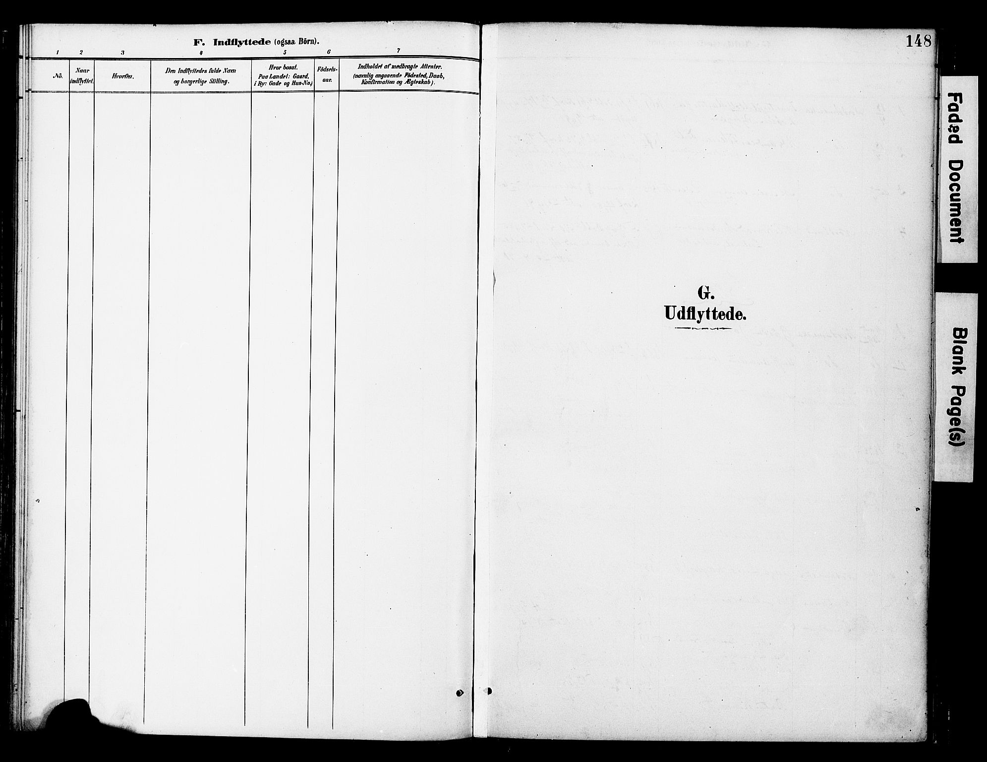 SAT, Ministerialprotokoller, klokkerbøker og fødselsregistre - Nord-Trøndelag, 742/L0409: Ministerialbok nr. 742A02, 1891-1905, s. 148