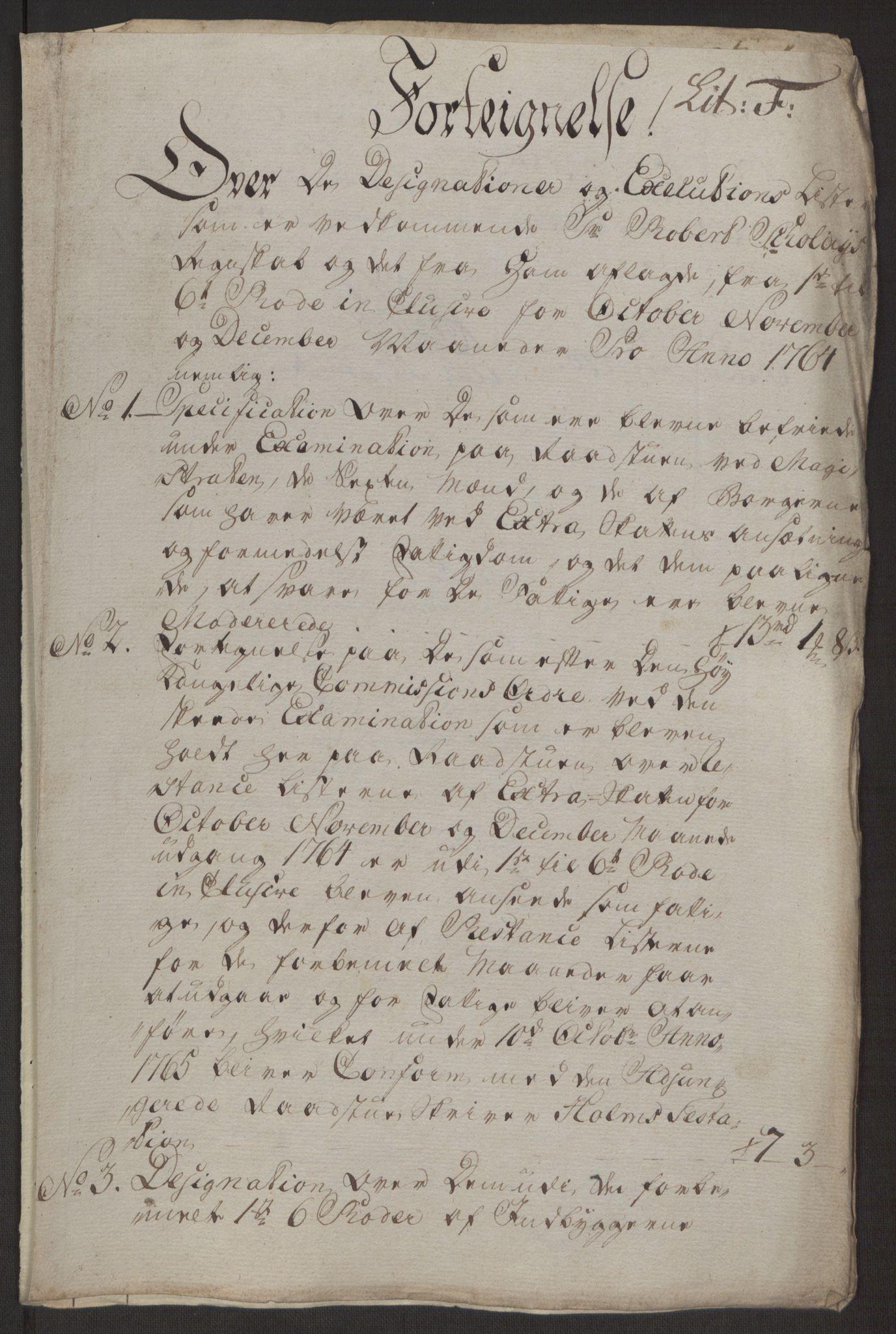 RA, Rentekammeret inntil 1814, Reviderte regnskaper, Byregnskaper, R/Rp/L0367: [P21] Kontribusjonsregnskap, 1764, s. 166