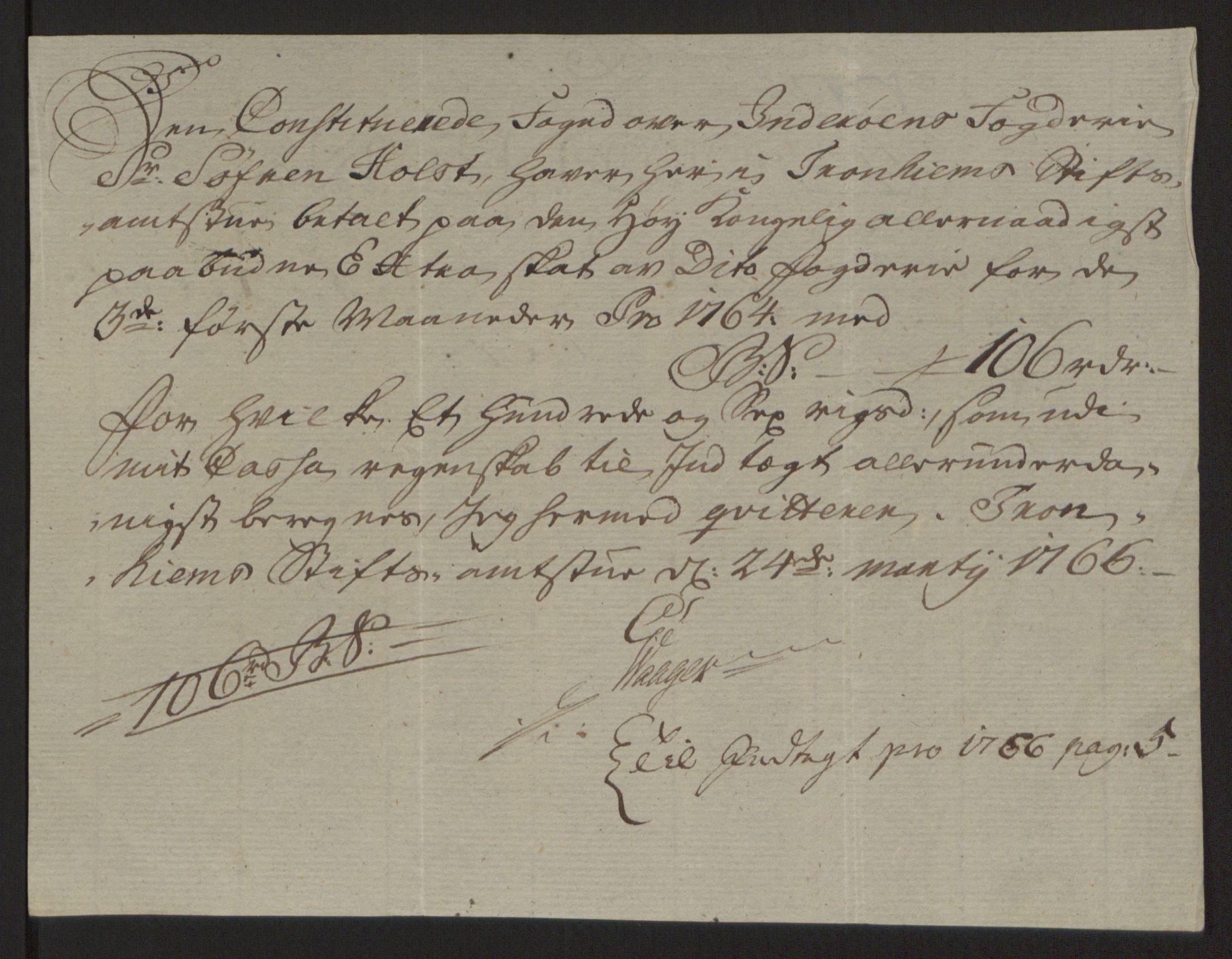 RA, Rentekammeret inntil 1814, Reviderte regnskaper, Fogderegnskap, R63/L4420: Ekstraskatten Inderøy, 1762-1772, s. 158