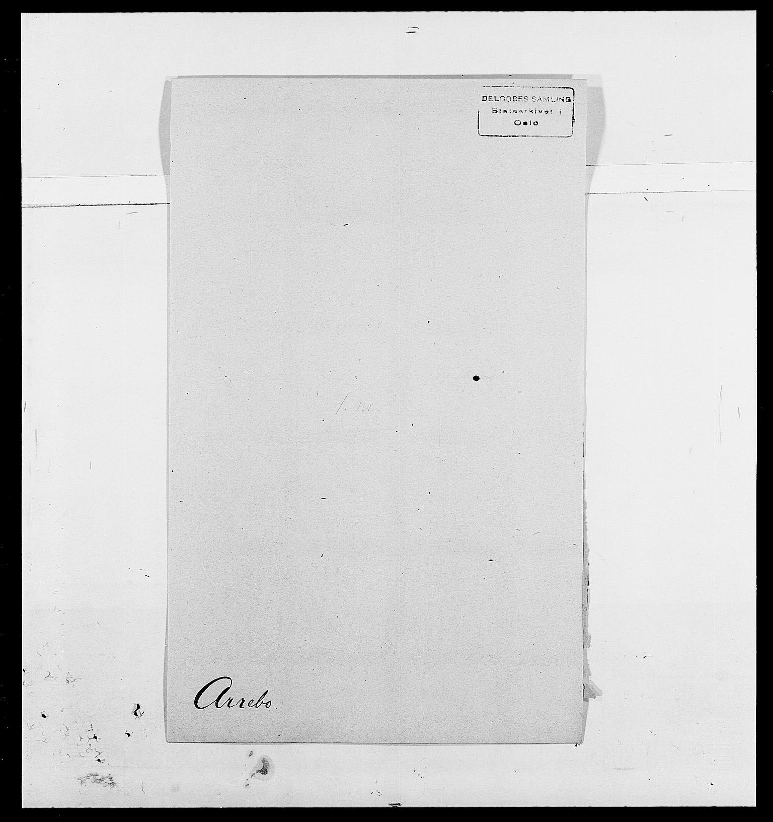 SAO, Delgobe, Charles Antoine - samling, D/Da/L0002: Anker, Ancher - Bauner, s. 369