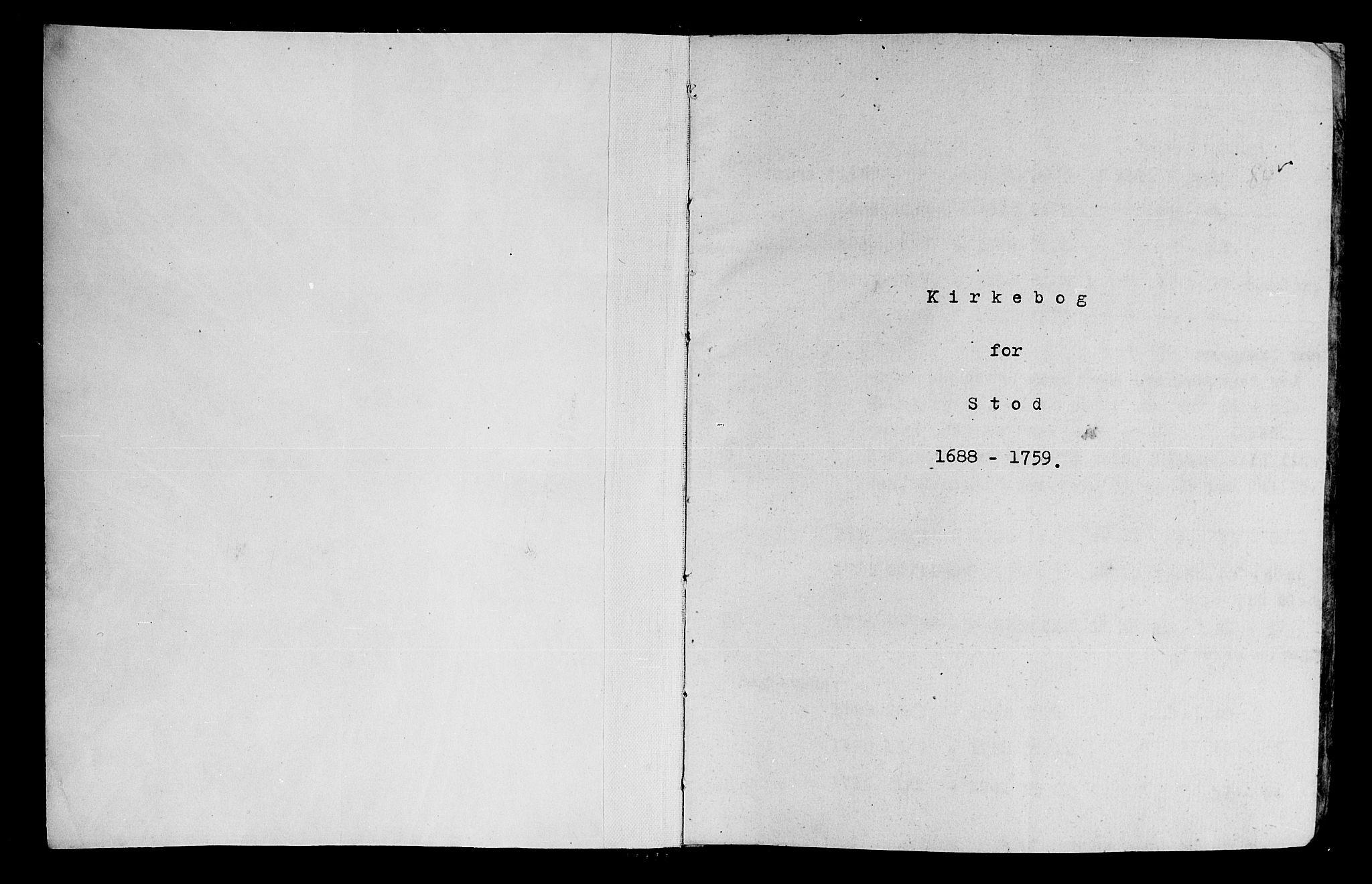 SAT, Ministerialprotokoller, klokkerbøker og fødselsregistre - Nord-Trøndelag, 746/L0439: Ministerialbok nr. 746A01, 1688-1759