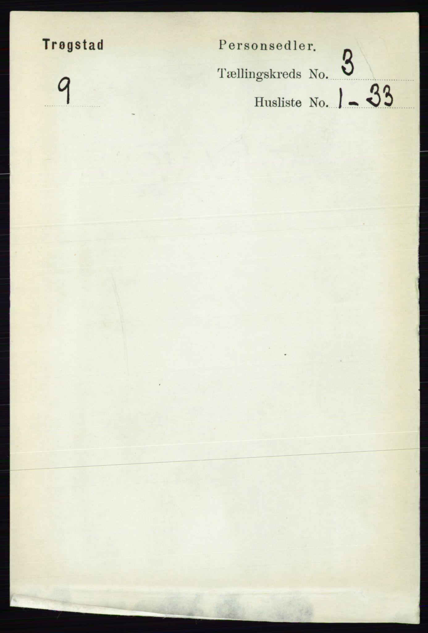 RA, Folketelling 1891 for 0122 Trøgstad herred, 1891, s. 1119