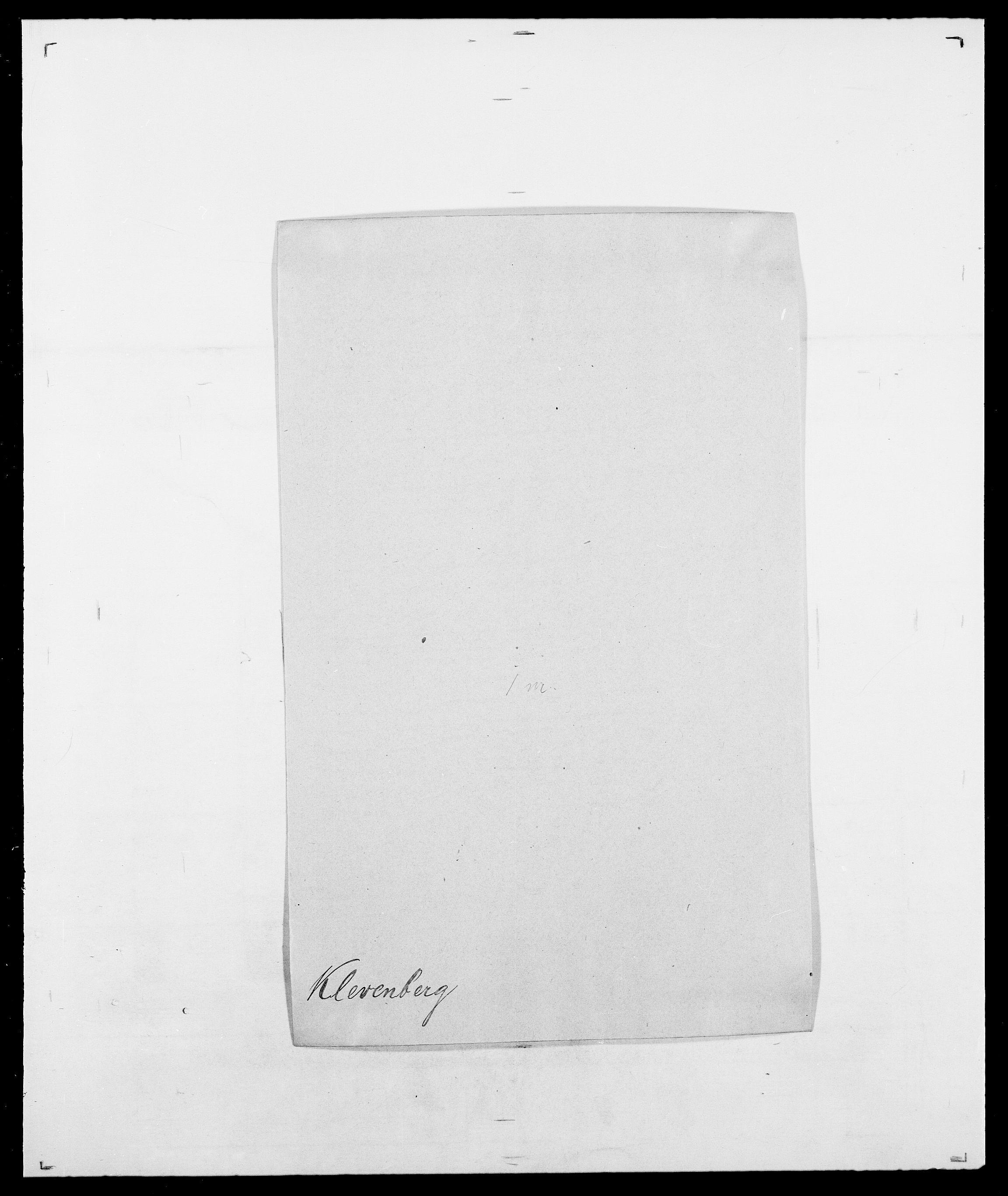 SAO, Delgobe, Charles Antoine - samling, D/Da/L0021: Klagenberg - Kristoft, s. 59