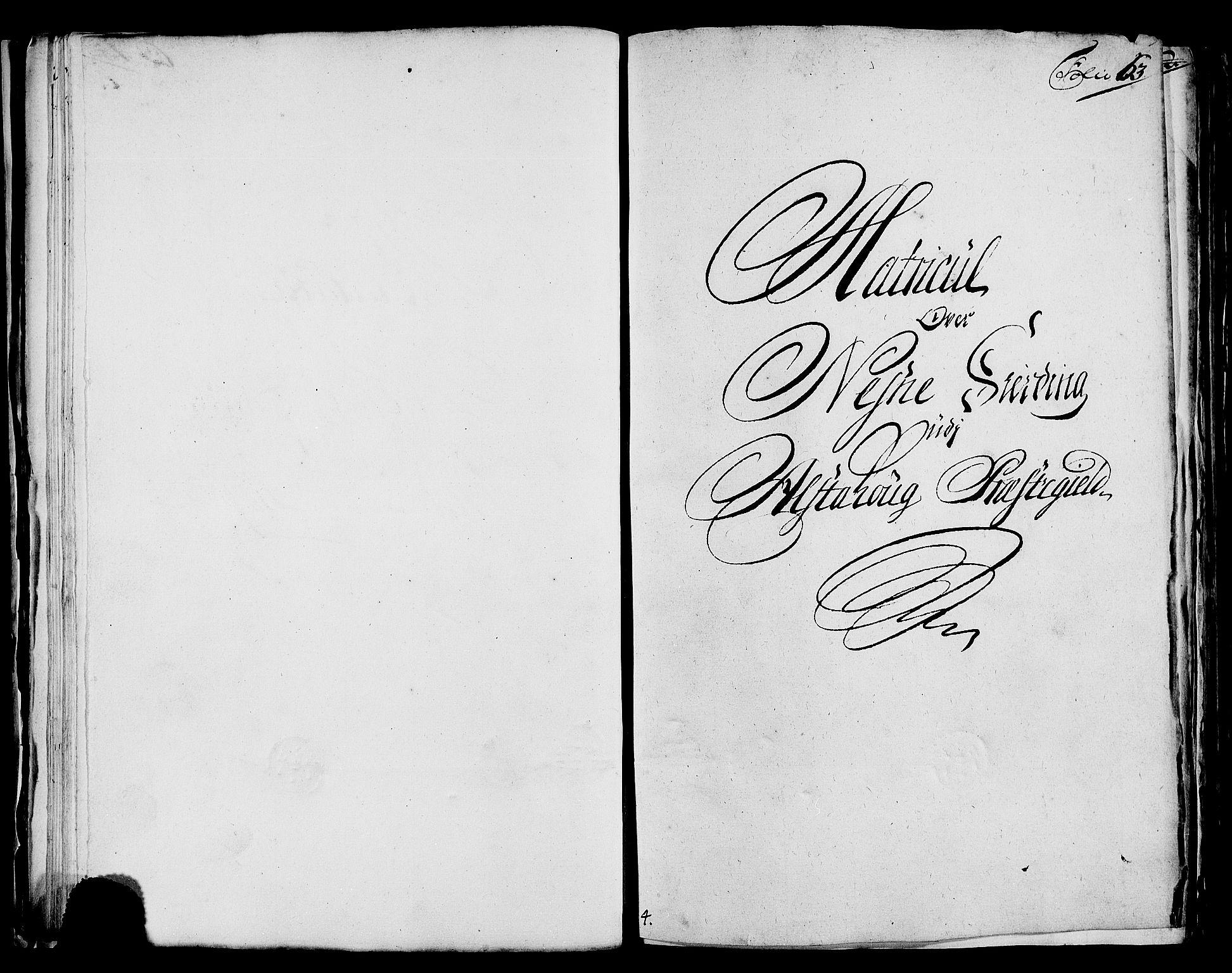 RA, Rentekammeret inntil 1814, Realistisk ordnet avdeling, N/Nb/Nbf/L0171: Helgeland matrikkelprotokoll, 1723, s. 62b-63a