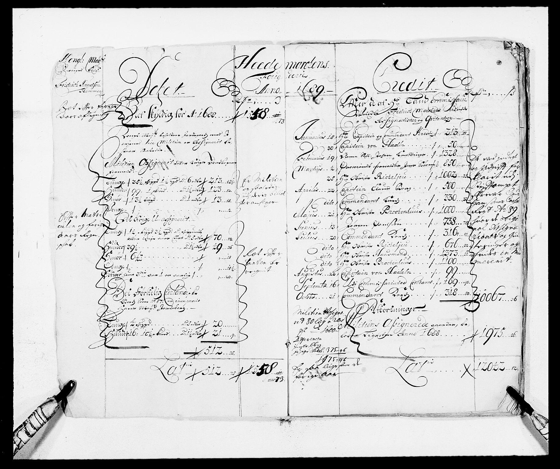 RA, Rentekammeret inntil 1814, Reviderte regnskaper, Fogderegnskap, R16/L1030: Fogderegnskap Hedmark, 1689-1691, s. 2