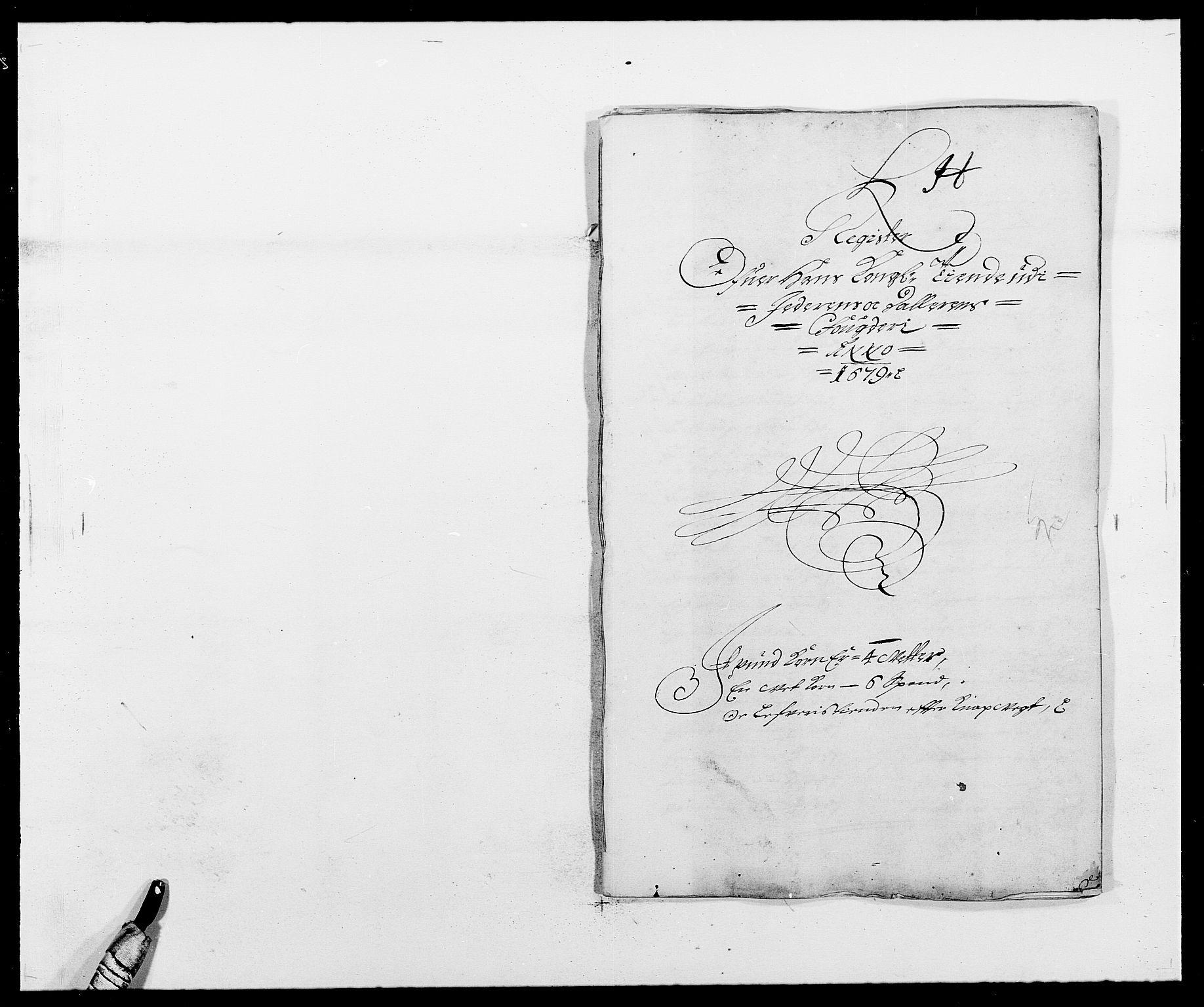 RA, Rentekammeret inntil 1814, Reviderte regnskaper, Fogderegnskap, R46/L2719: Fogderegnskap Jæren og Dalane, 1679, s. 261