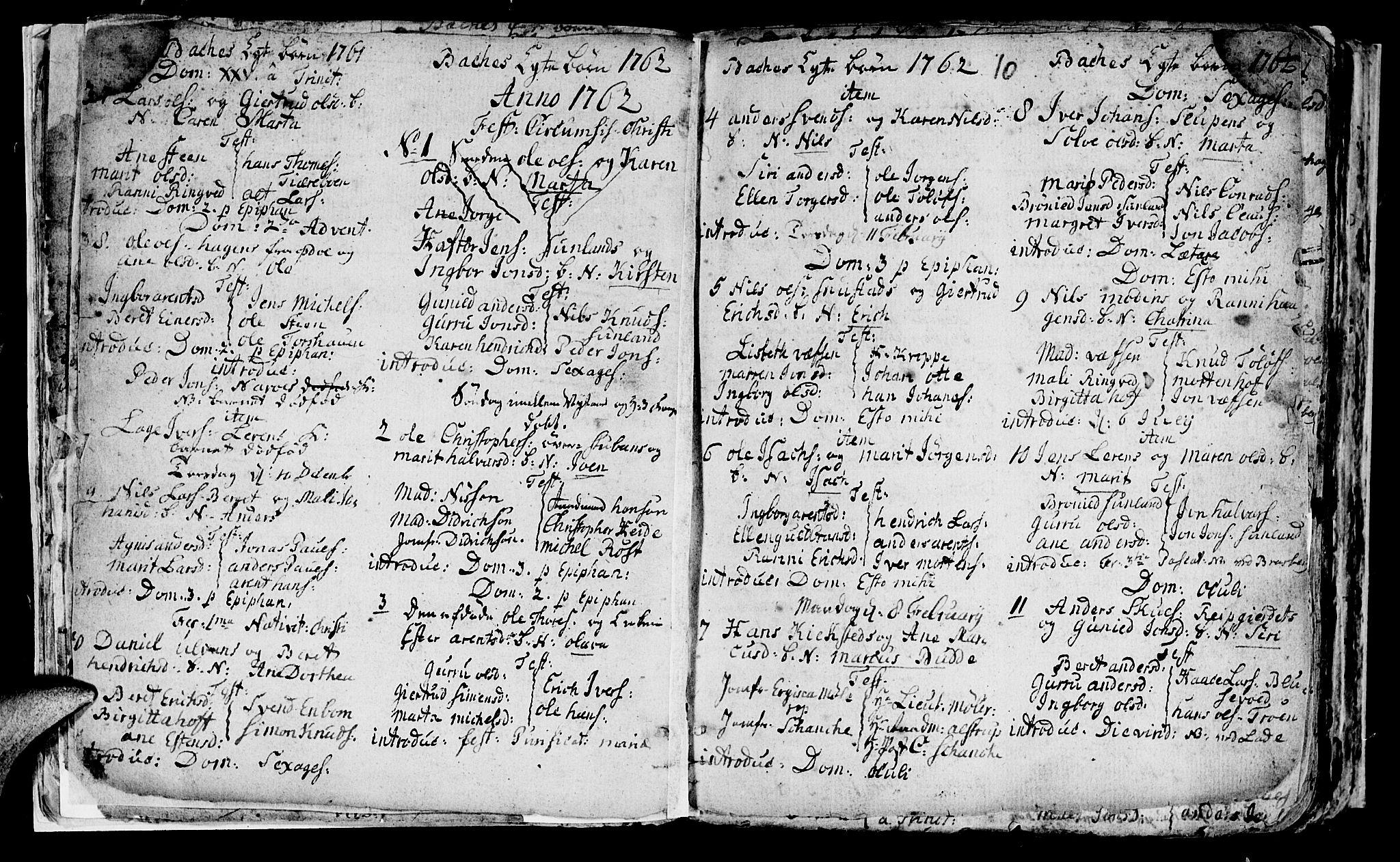 SAT, Ministerialprotokoller, klokkerbøker og fødselsregistre - Sør-Trøndelag, 604/L0218: Klokkerbok nr. 604C01, 1754-1819, s. 10