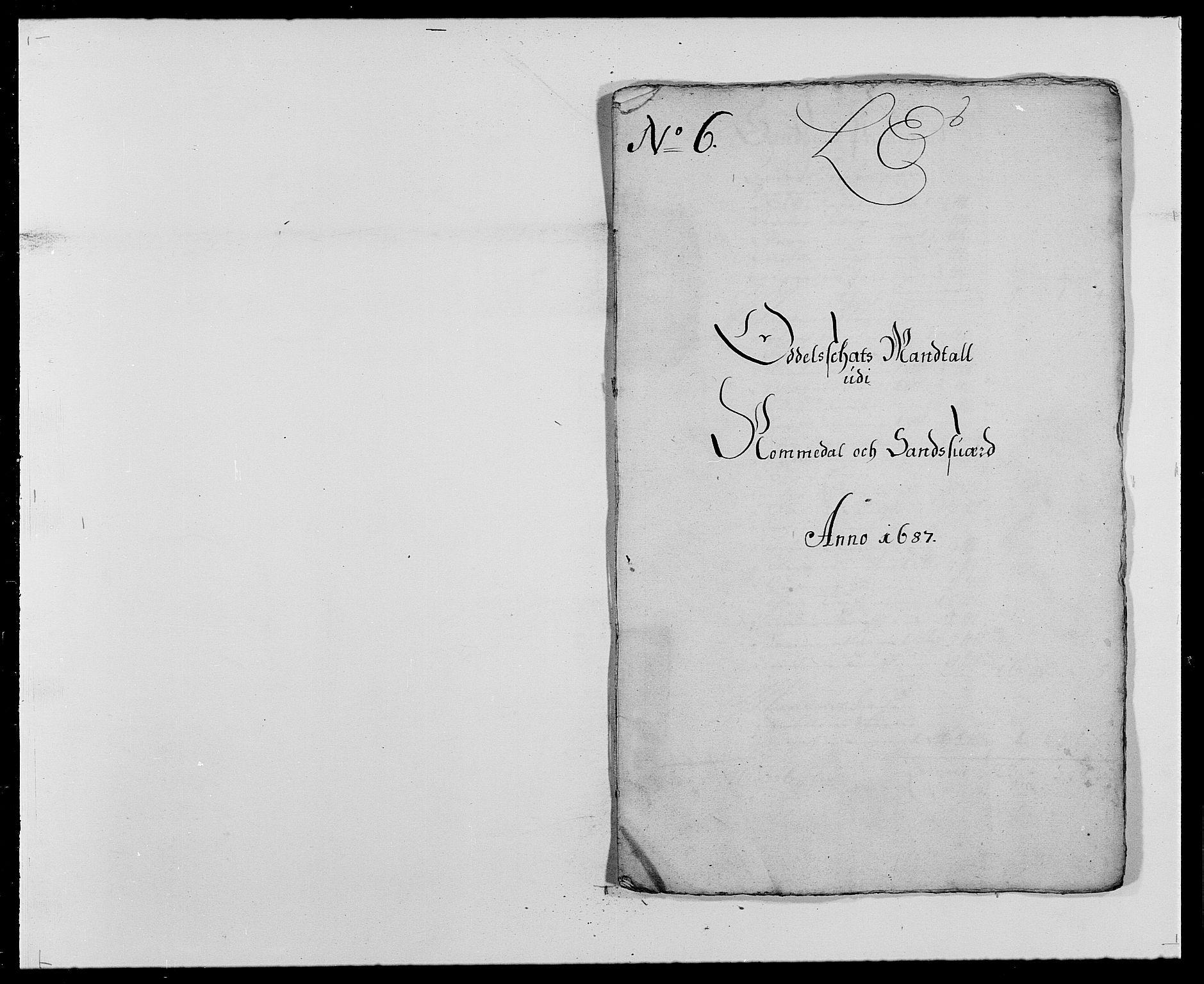 RA, Rentekammeret inntil 1814, Reviderte regnskaper, Fogderegnskap, R24/L1573: Fogderegnskap Numedal og Sandsvær, 1687-1691, s. 155