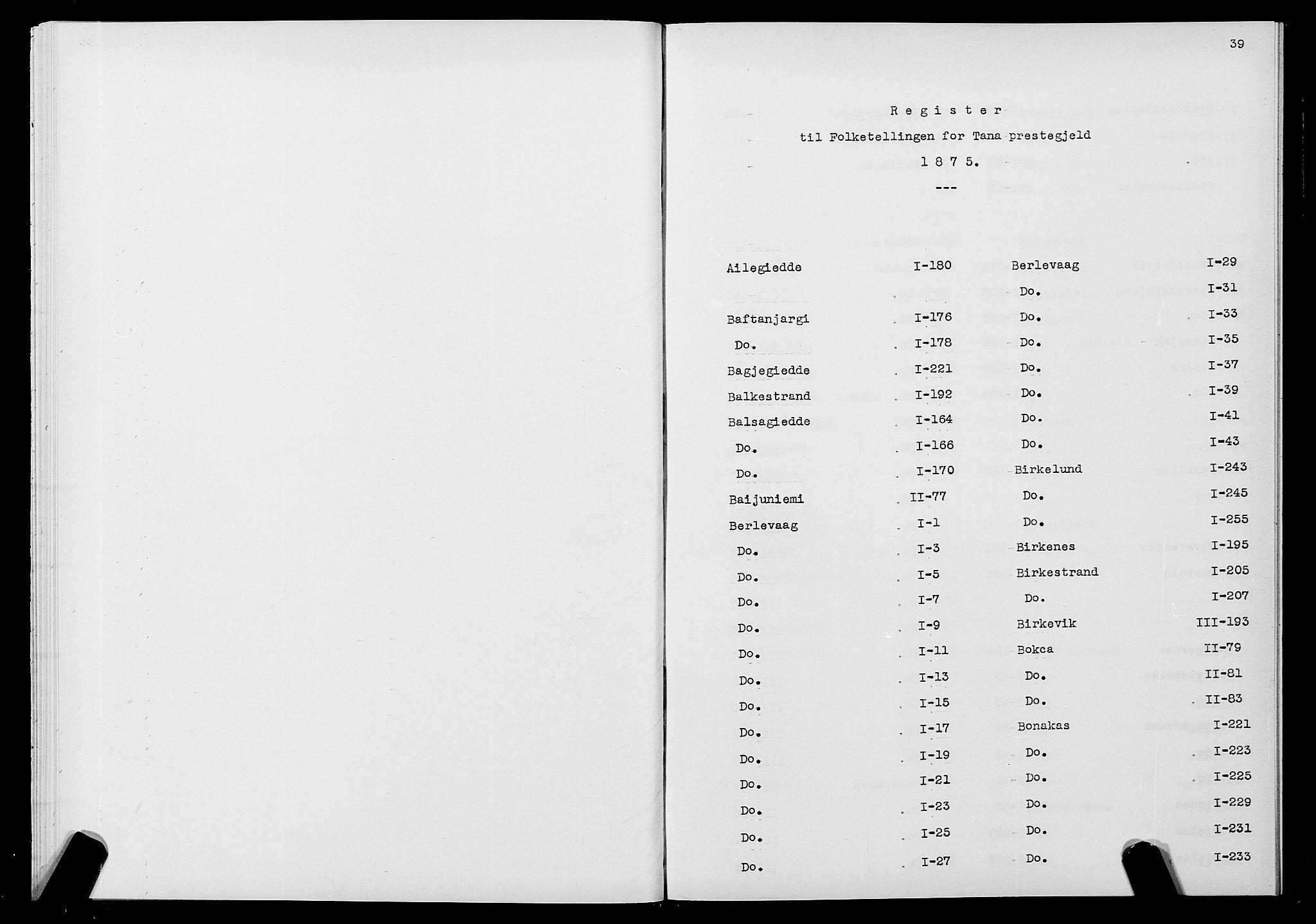 SATØ, Folketelling 1875 for 2025P Tana prestegjeld, 1875, s. 39
