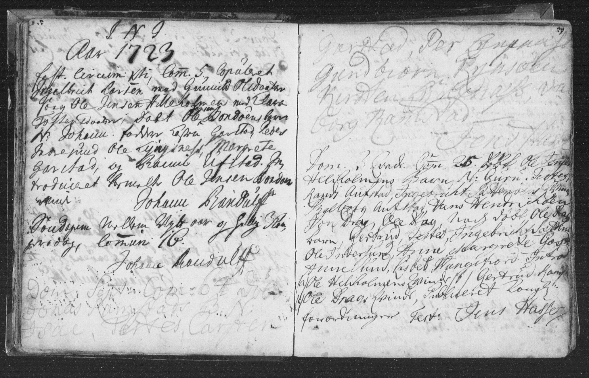 SAT, Ministerialprotokoller, klokkerbøker og fødselsregistre - Nord-Trøndelag, 786/L0685: Ministerialbok nr. 786A01, 1710-1798, s. 29