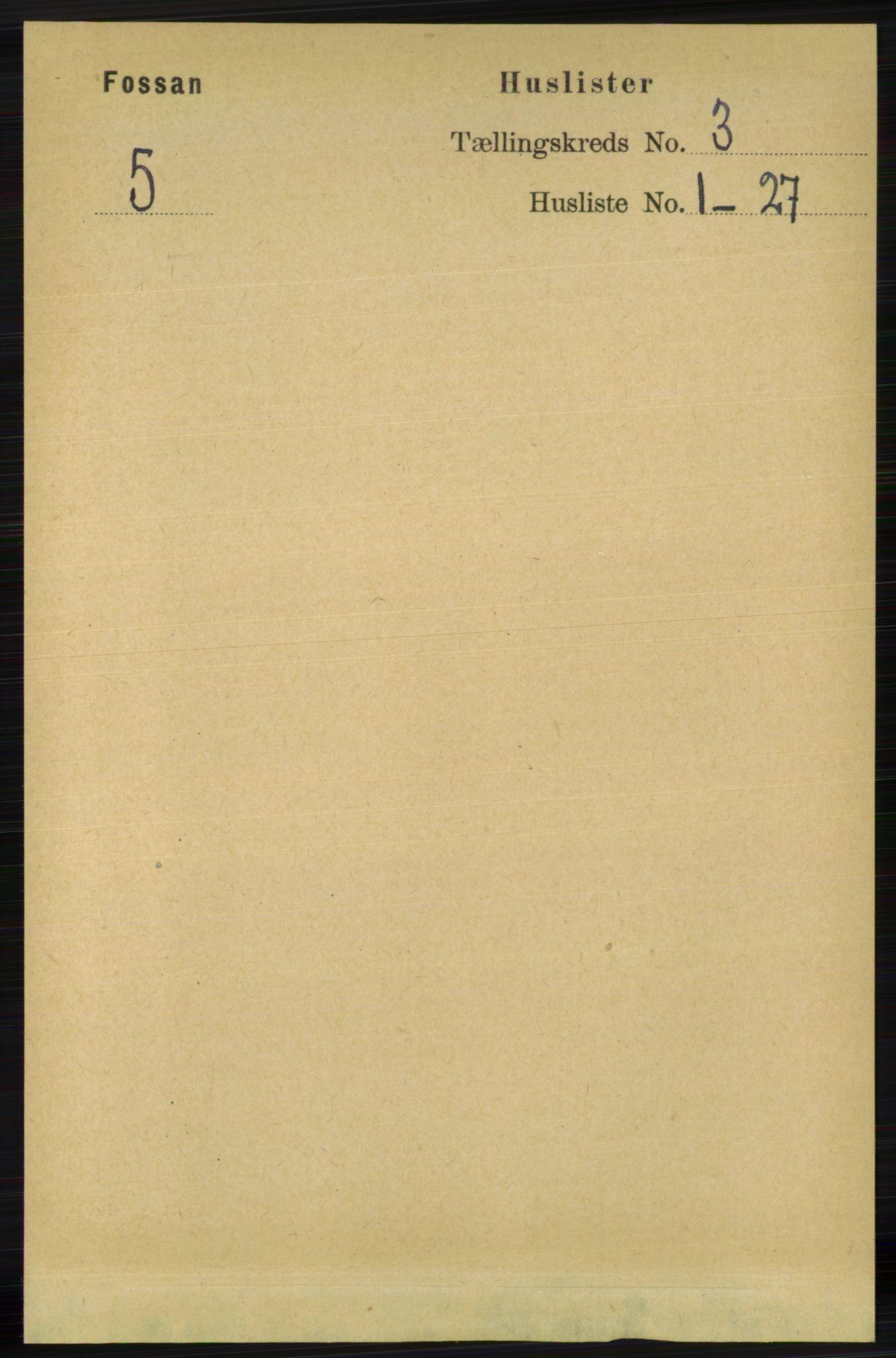 RA, Folketelling 1891 for 1129 Forsand herred, 1891, s. 298