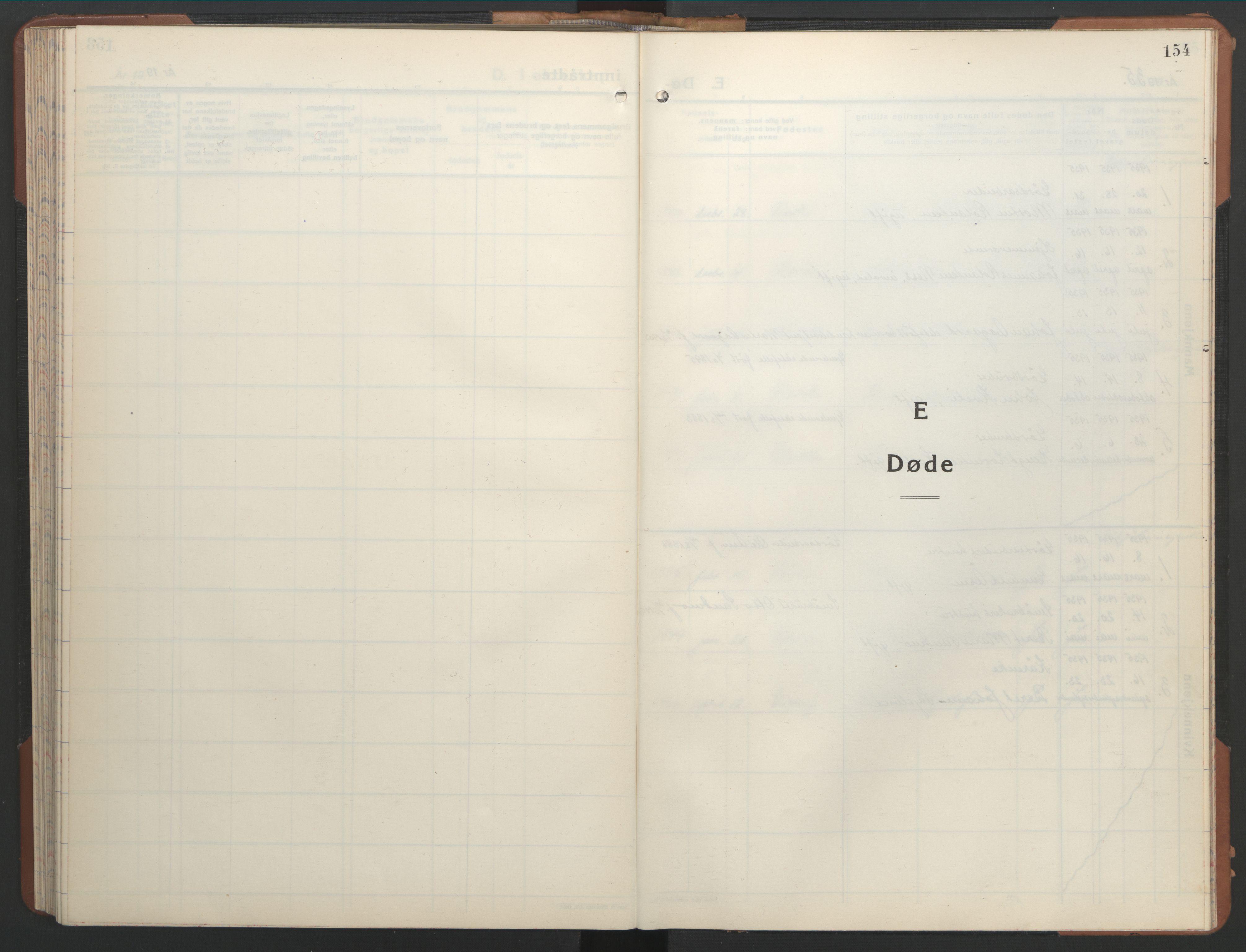 SAT, Ministerialprotokoller, klokkerbøker og fødselsregistre - Nord-Trøndelag, 755/L0500: Klokkerbok nr. 755C01, 1920-1962, s. 154