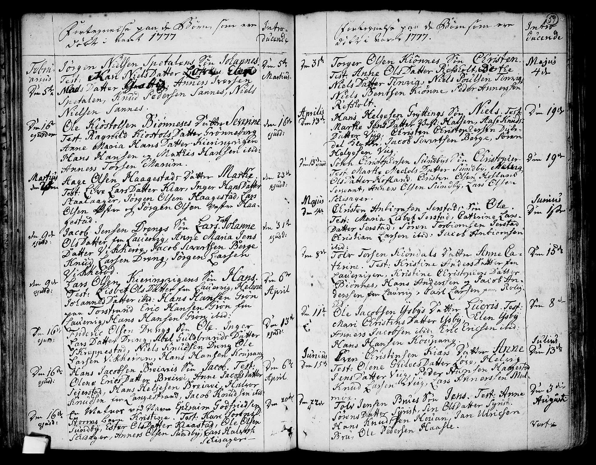SAKO, Tjølling kirkebøker, F/Fa/L0003: Ministerialbok nr. 3, 1735-1778, s. 59