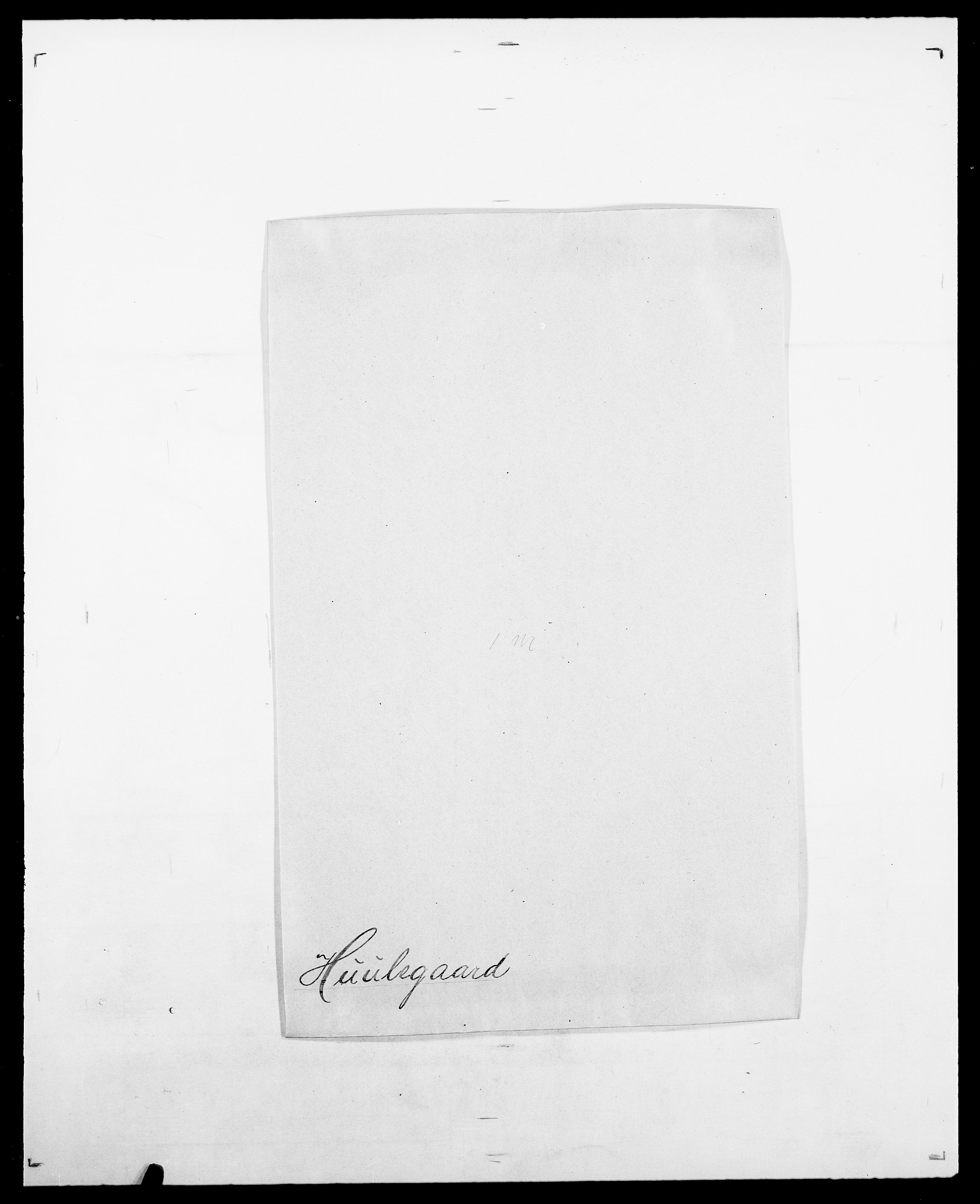 SAO, Delgobe, Charles Antoine - samling, D/Da/L0019: van der Hude - Joys, s. 94