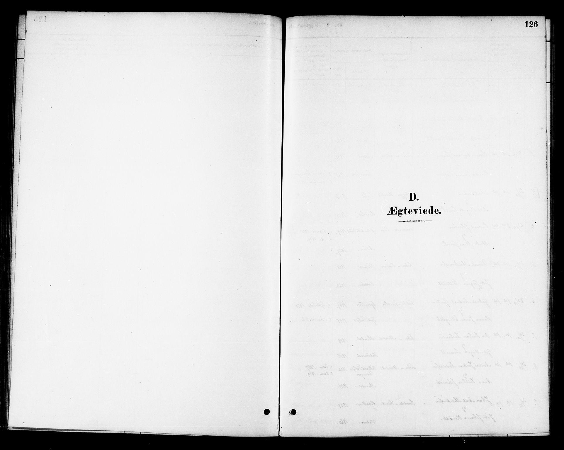 SAT, Ministerialprotokoller, klokkerbøker og fødselsregistre - Sør-Trøndelag, 654/L0663: Ministerialbok nr. 654A01, 1880-1894, s. 126
