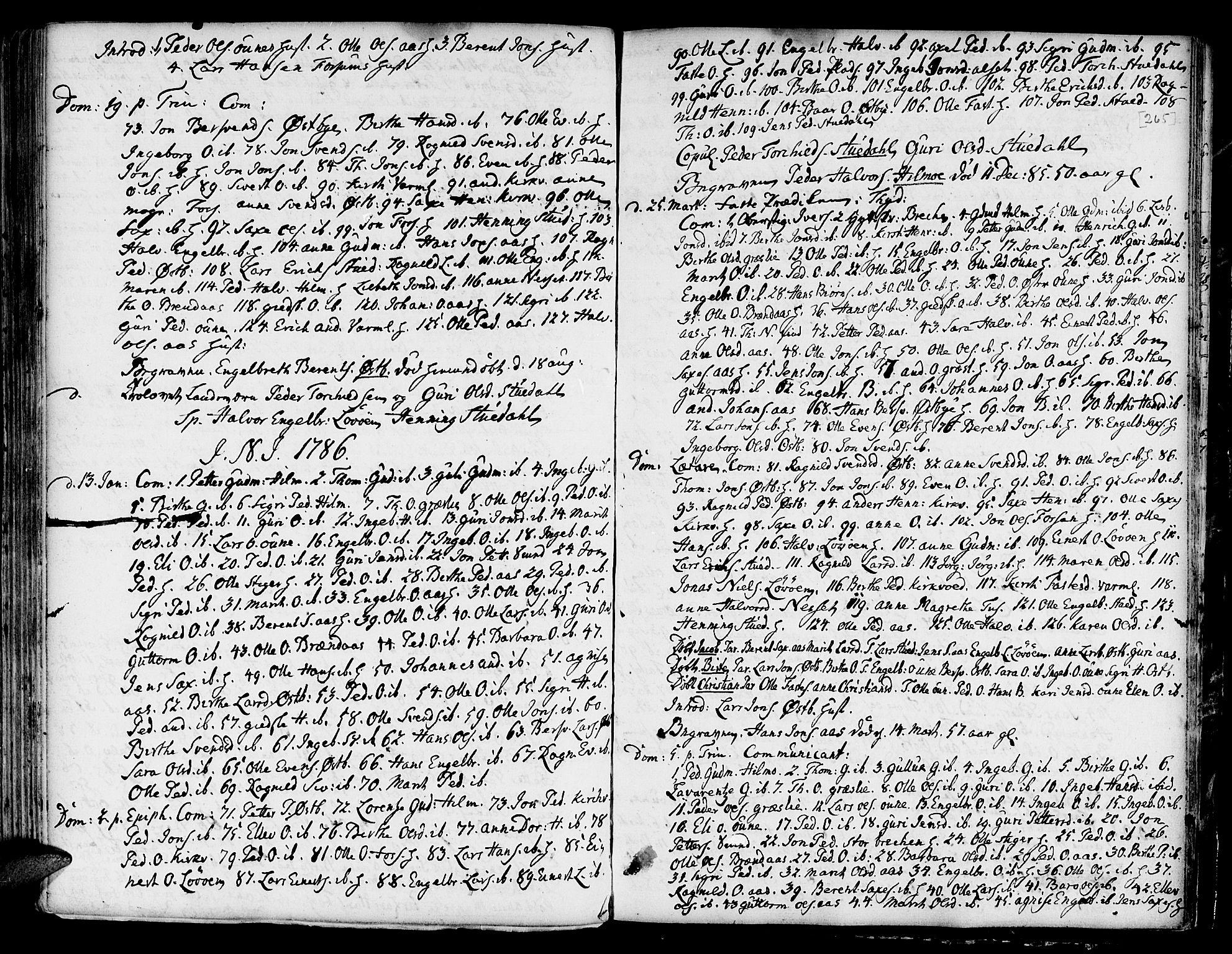 SAT, Ministerialprotokoller, klokkerbøker og fødselsregistre - Sør-Trøndelag, 695/L1139: Ministerialbok nr. 695A02 /2, 1776-1790, s. 265