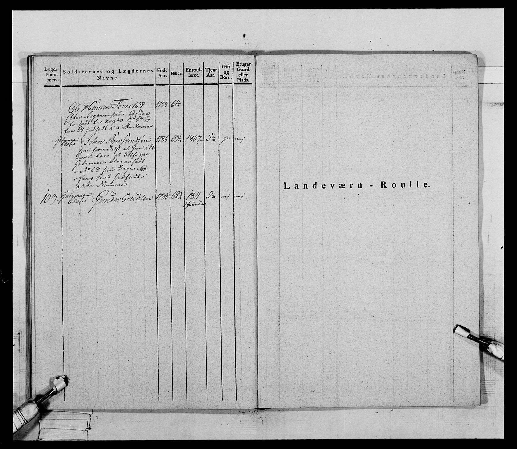 RA, Generalitets- og kommissariatskollegiet, Det kongelige norske kommissariatskollegium, E/Eh/L0069: Opplandske gevorbne infanteriregiment, 1810-1818, s. 597