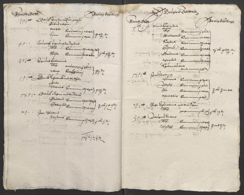 RA, Stattholderembetet 1572-1771, Ek/L0010: Jordebøker til utlikning av rosstjeneste 1624-1626:, 1624-1626, s. 119