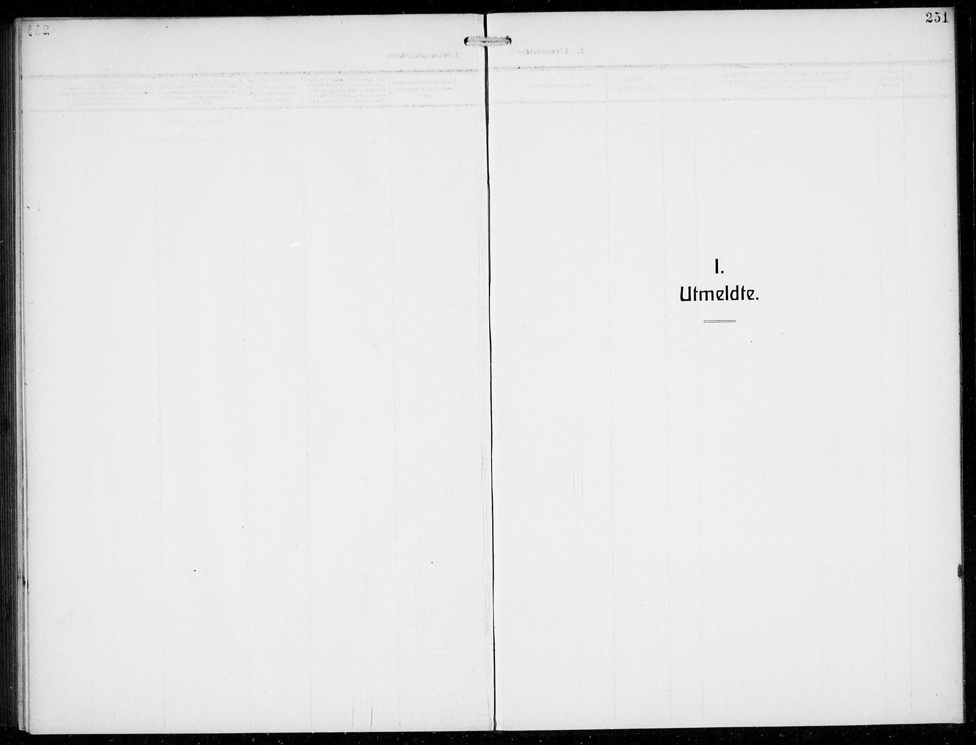 SAB, Masfjorden Soknepresembete, Klokkerbok nr. B  2, 1912-1939, s. 251