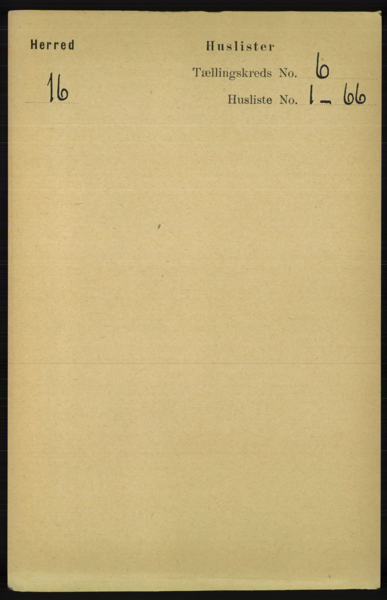 RA, Folketelling 1891 for 1039 Herad herred, 1891, s. 2233