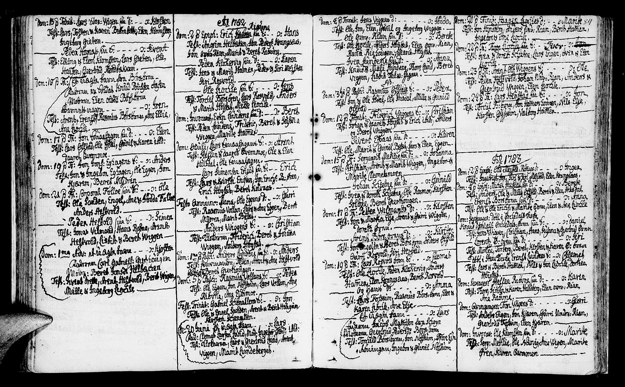 SAT, Ministerialprotokoller, klokkerbøker og fødselsregistre - Sør-Trøndelag, 665/L0768: Ministerialbok nr. 665A03, 1754-1803, s. 84