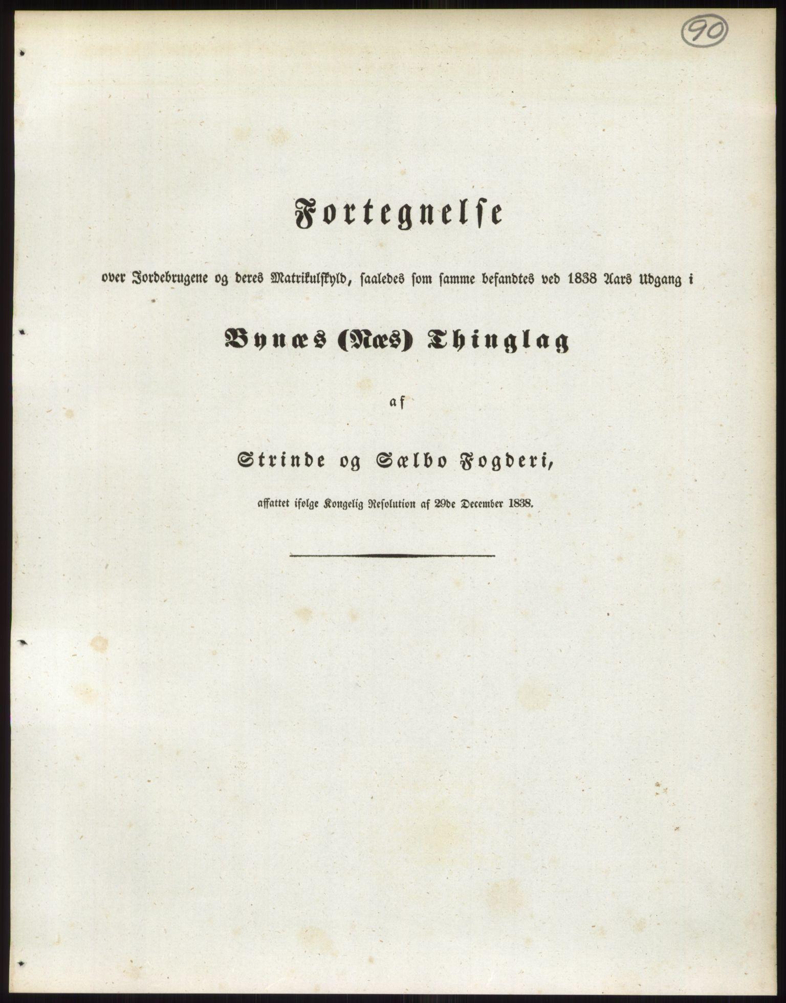 RA, 1838-matrikkelen (publikasjon)*, 1838, s. 90