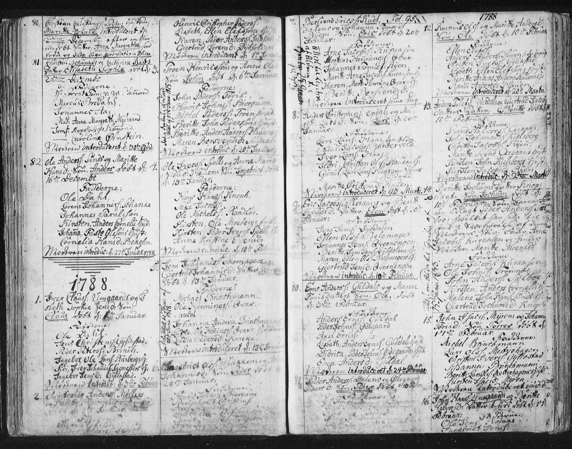 SAT, Ministerialprotokoller, klokkerbøker og fødselsregistre - Sør-Trøndelag, 681/L0926: Ministerialbok nr. 681A04, 1767-1797, s. 95