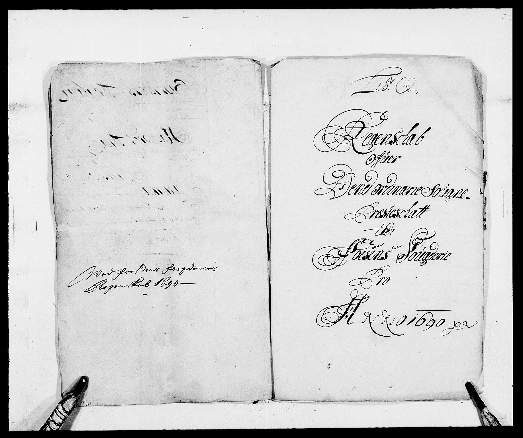 RA, Rentekammeret inntil 1814, Reviderte regnskaper, Fogderegnskap, R57/L3848: Fogderegnskap Fosen, 1690-1691, s. 187
