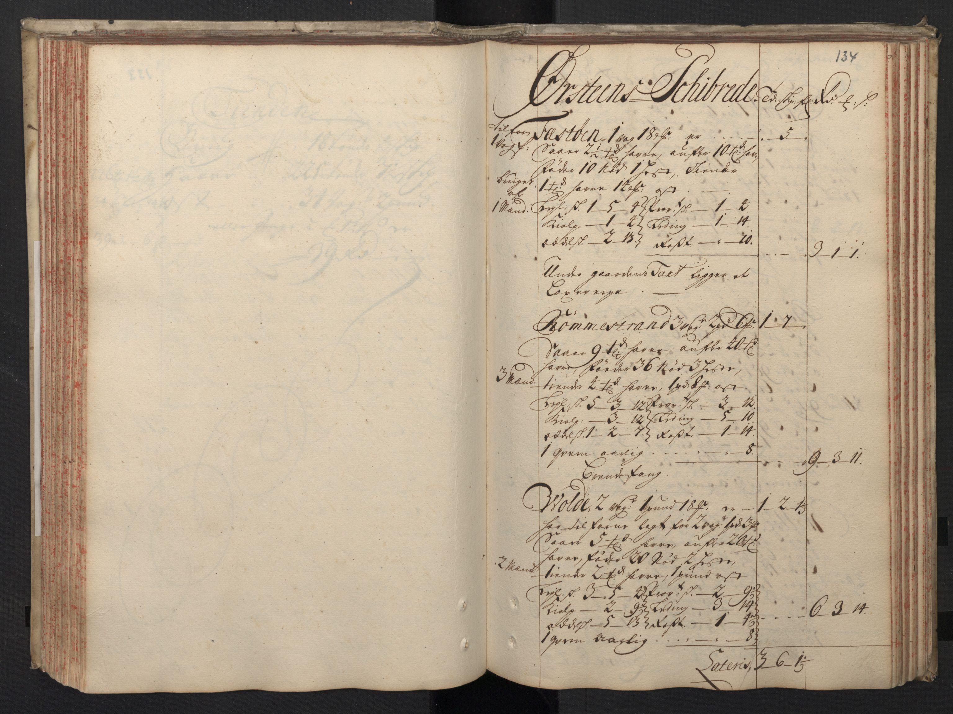 RA, Rentekammeret inntil 1814, Realistisk ordnet avdeling, N/Nb/Nbf/L0148: Sunnmøre, prøvematrikkel, 1714, s. 133b-134a