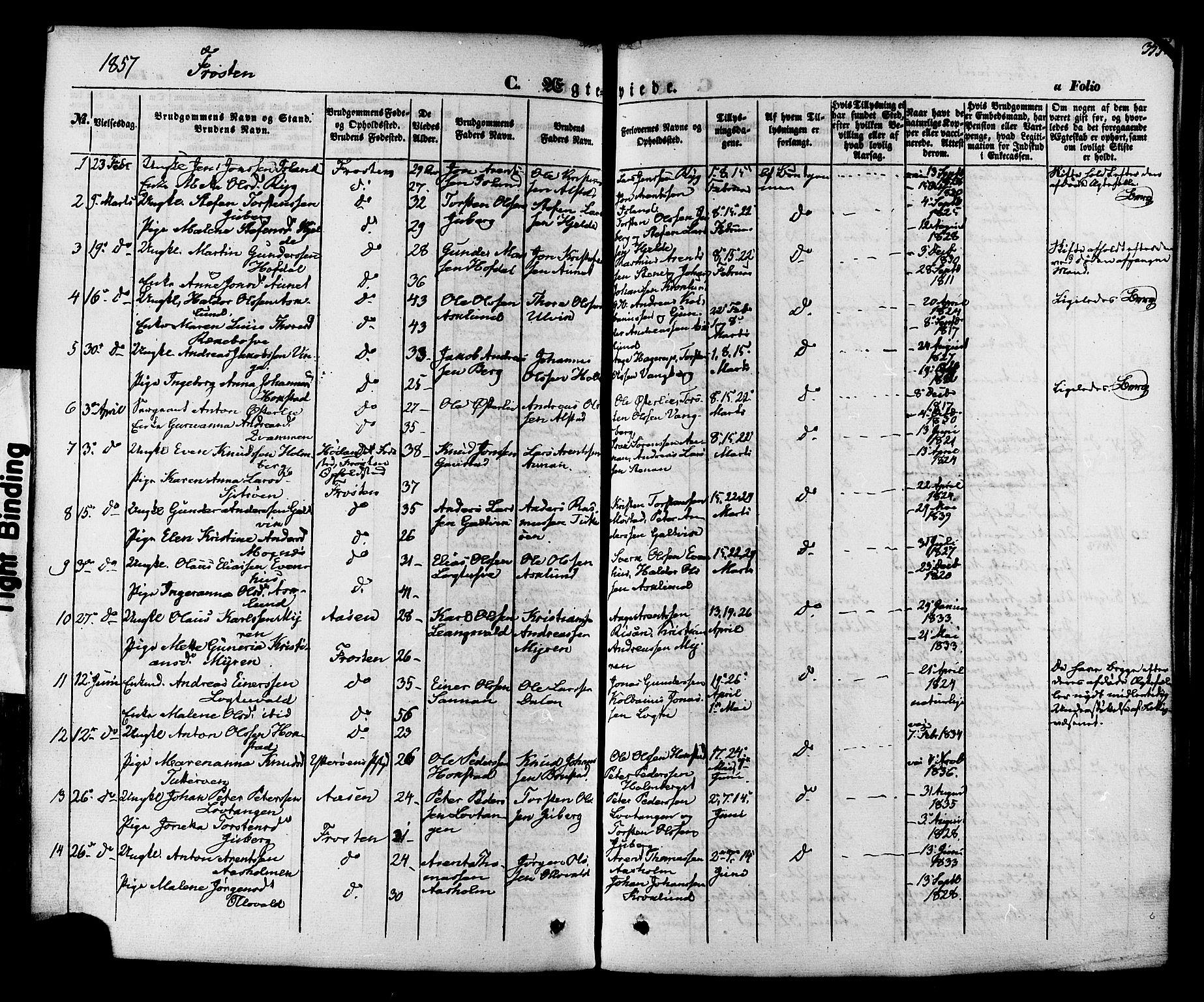 SAT, Ministerialprotokoller, klokkerbøker og fødselsregistre - Nord-Trøndelag, 713/L0116: Ministerialbok nr. 713A07 /1, 1850-1877, s. 355