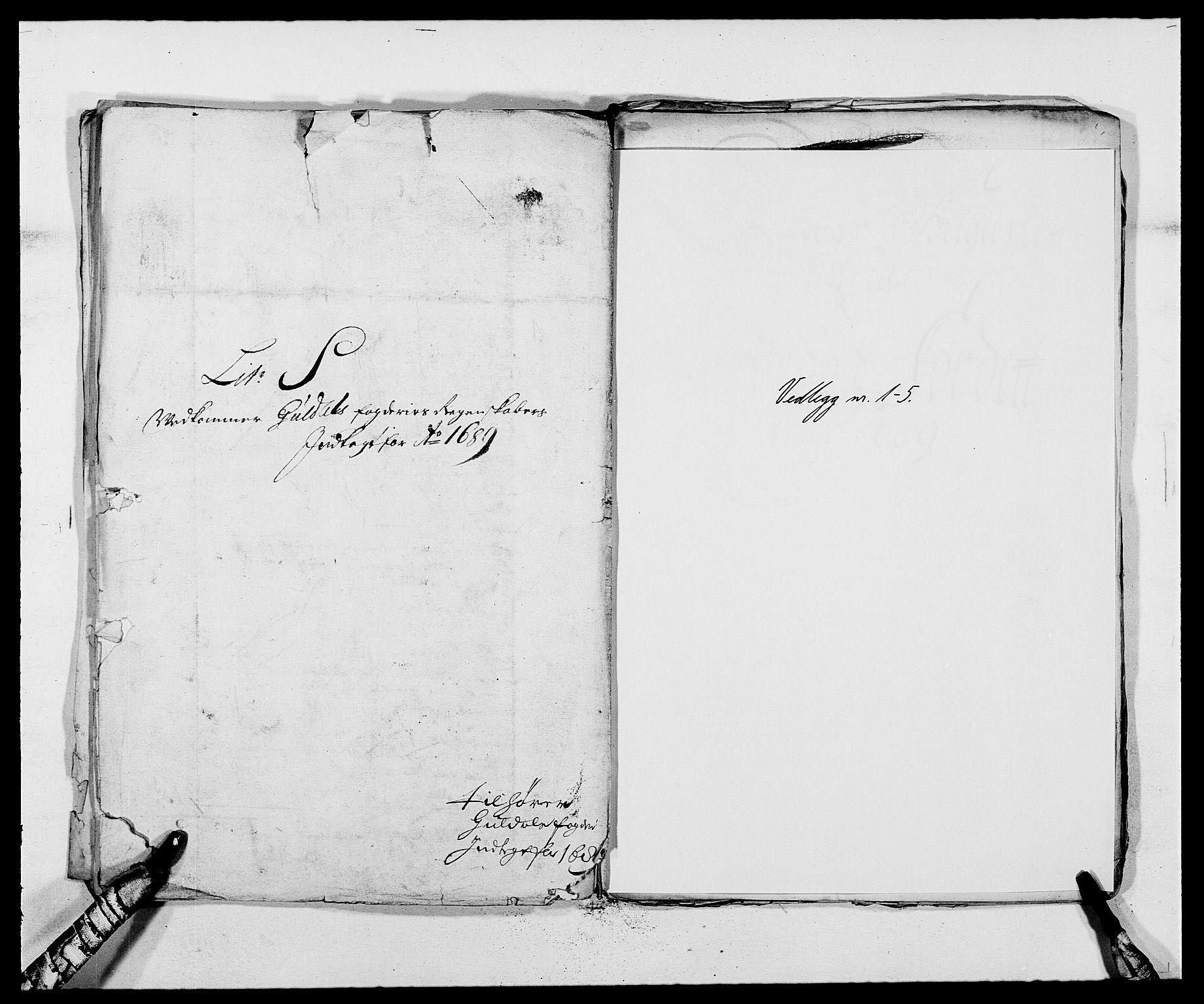 RA, Rentekammeret inntil 1814, Reviderte regnskaper, Fogderegnskap, R59/L3940: Fogderegnskap Gauldal, 1689-1690, s. 154