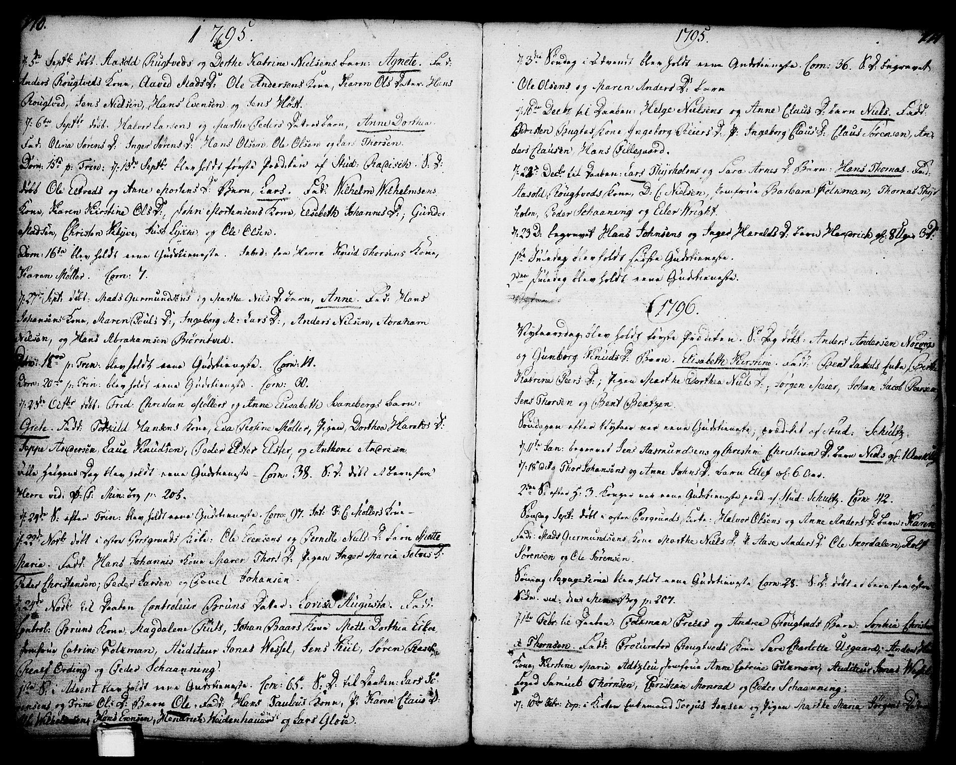 SAKO, Porsgrunn kirkebøker , F/Fa/L0001: Ministerialbok nr. 1, 1764-1814, s. 170-171
