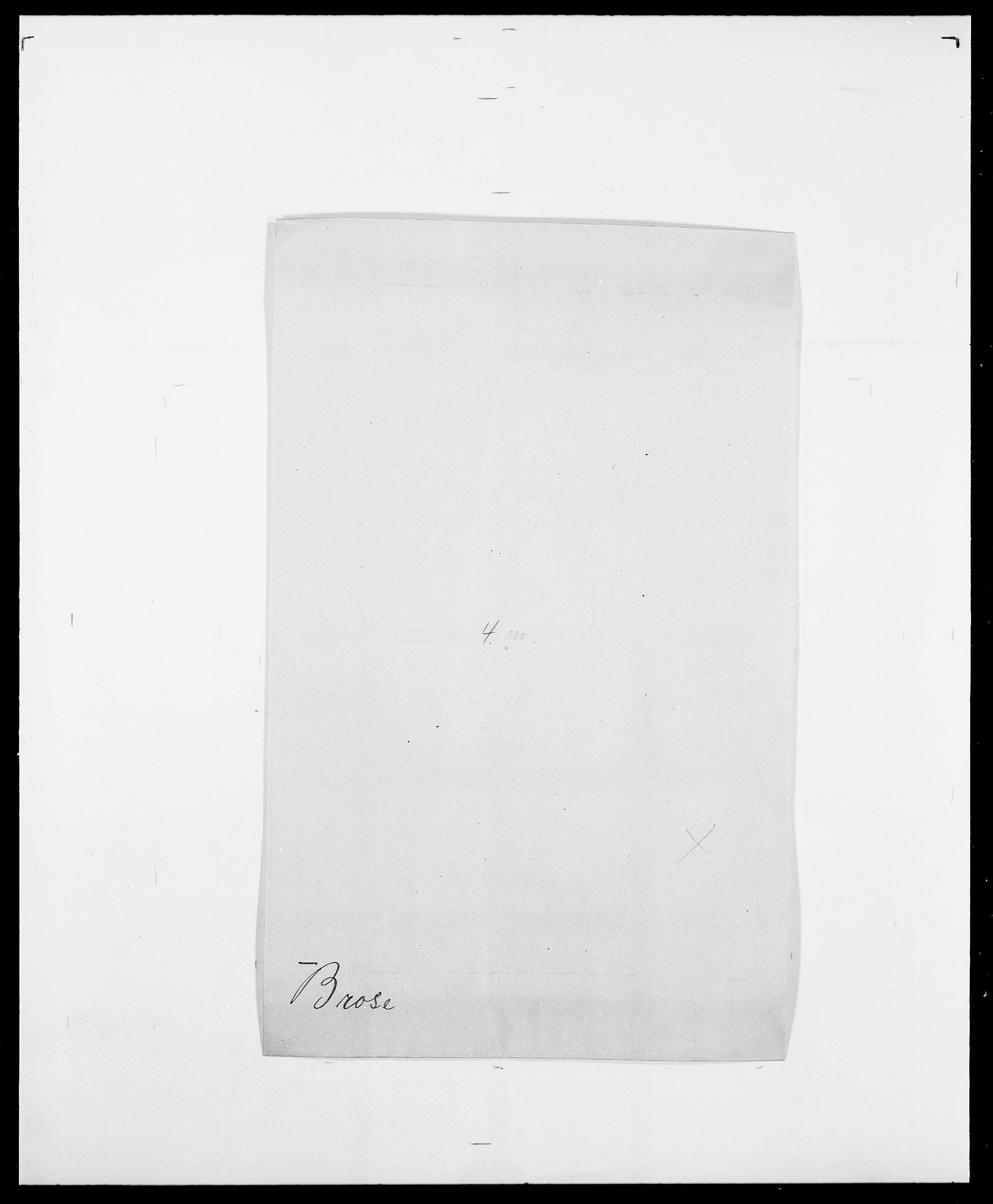 SAO, Delgobe, Charles Antoine - samling, D/Da/L0006: Brambani - Brønø, s. 522