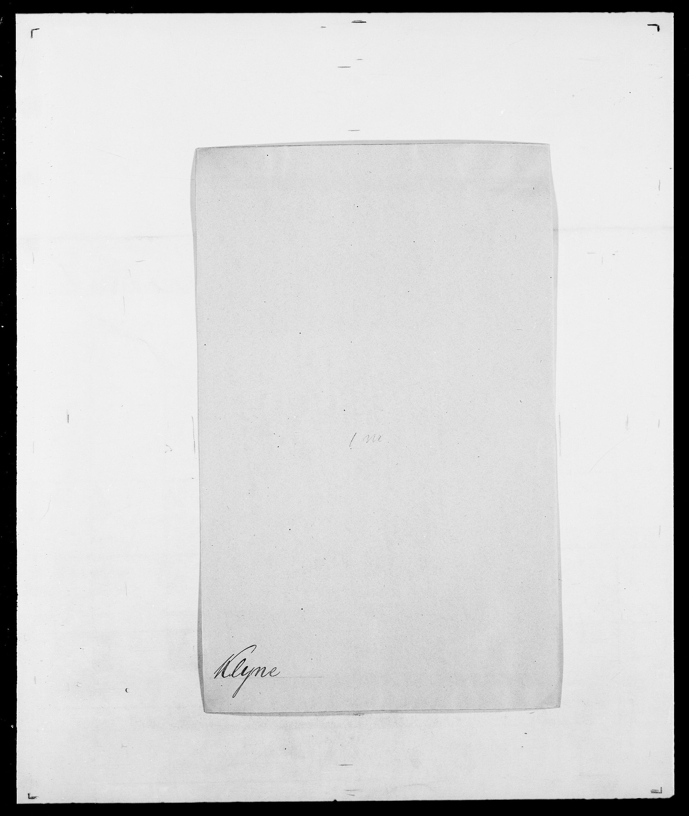 SAO, Delgobe, Charles Antoine - samling, D/Da/L0021: Klagenberg - Kristoft, s. 173