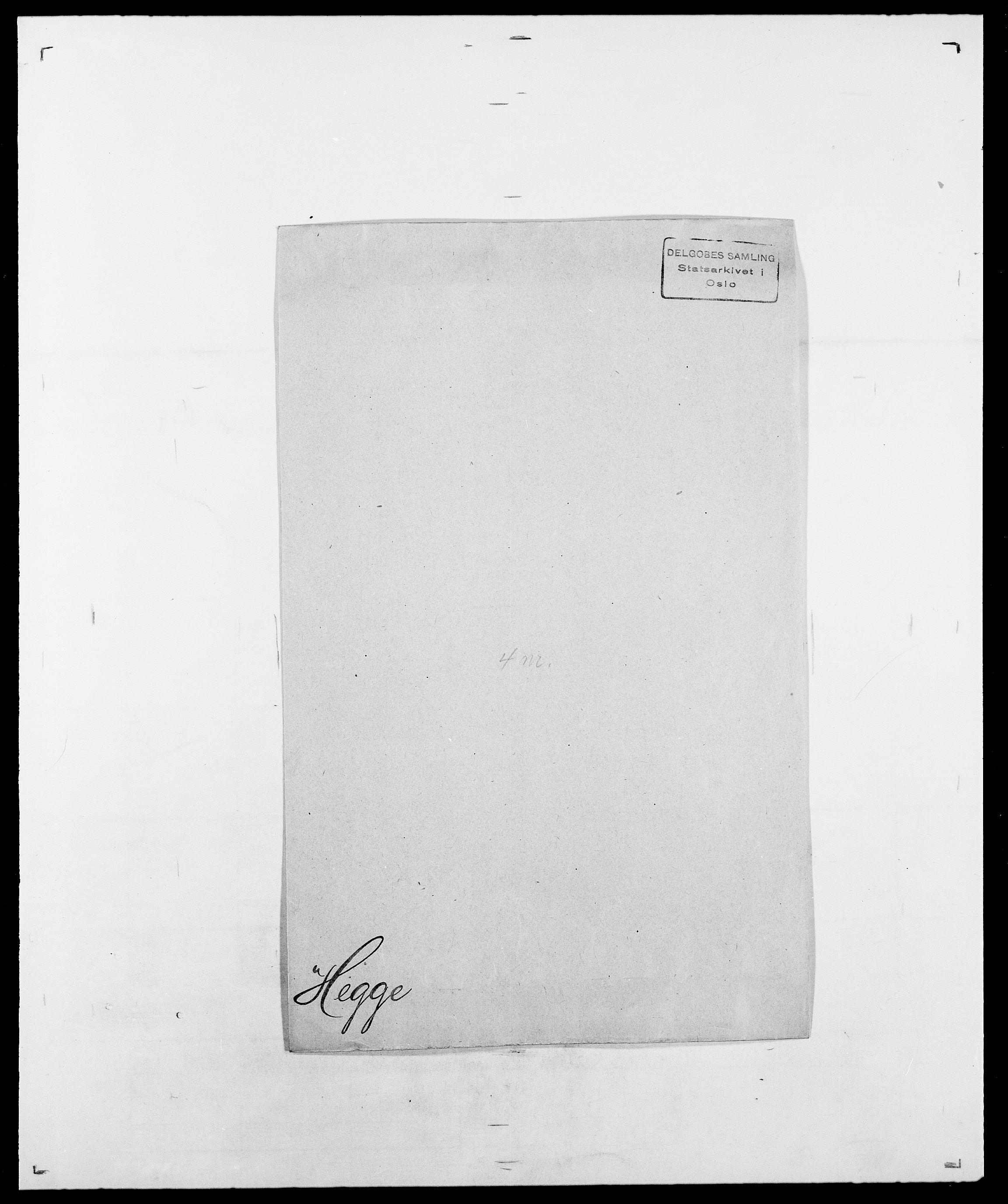 SAO, Delgobe, Charles Antoine - samling, D/Da/L0016: Hamborg - Hektoen, s. 729